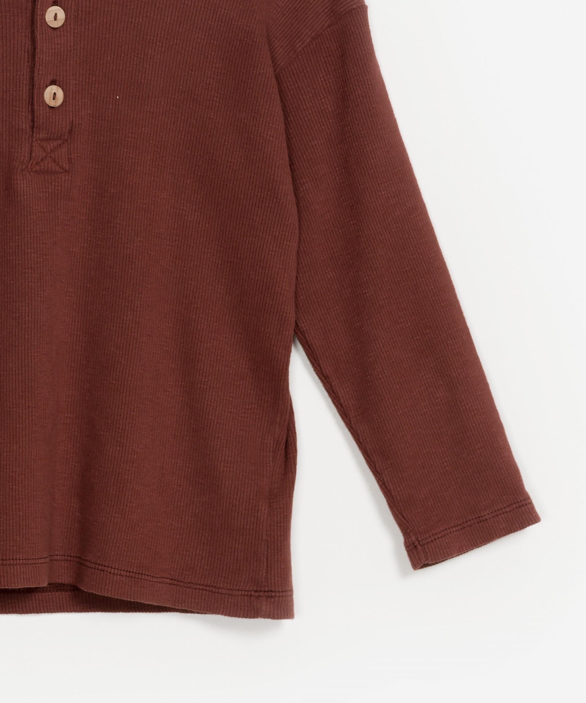 Flamé Rib LS T-shirt