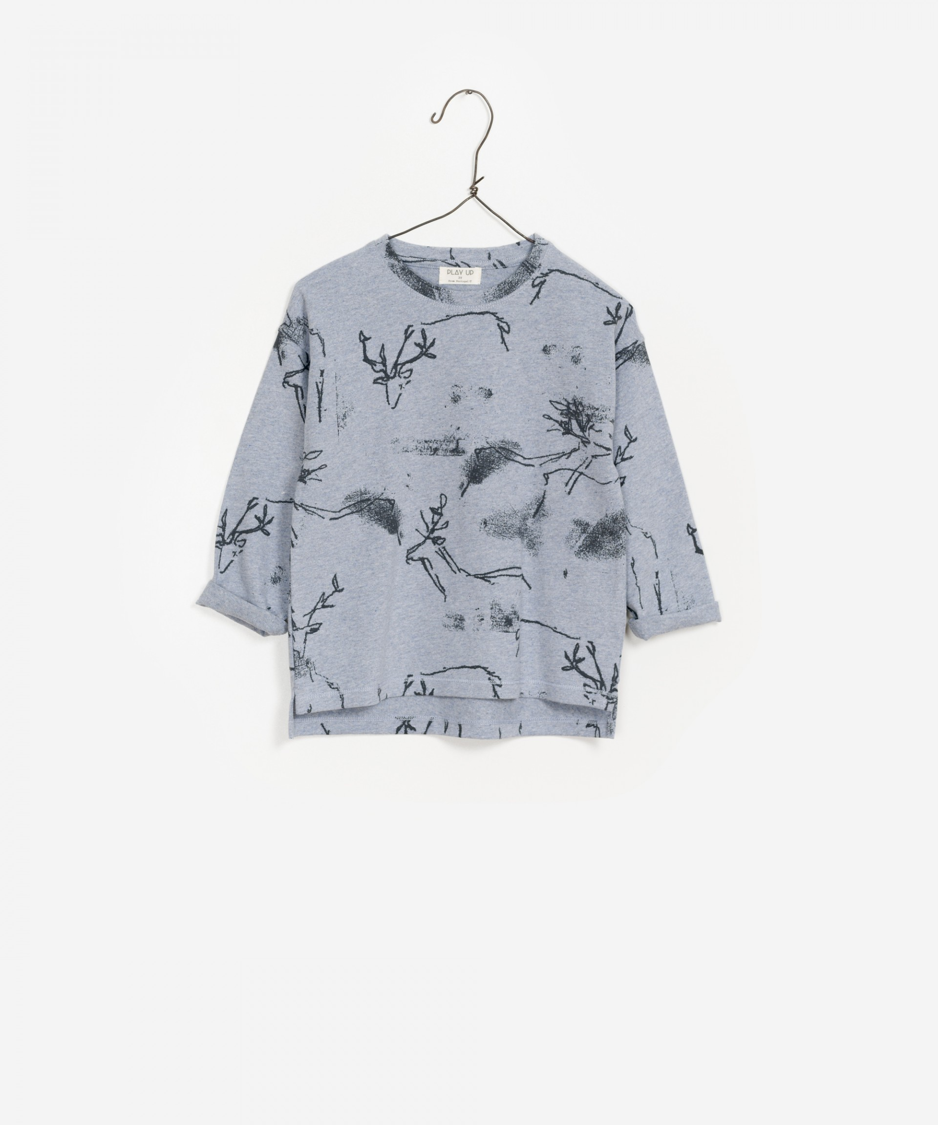 Printed Jersey LS T-Shirt