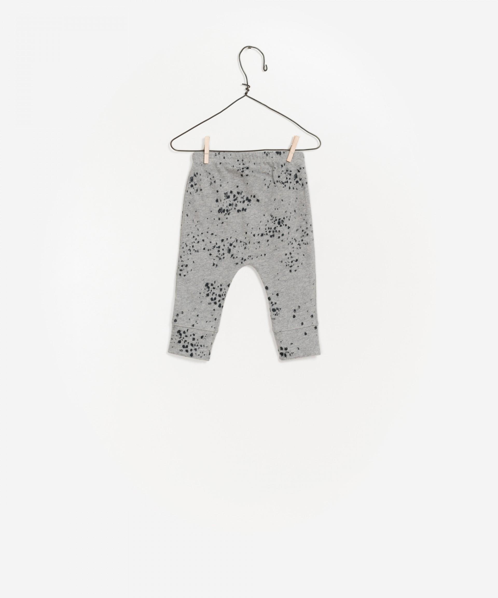 Printed Jersey Legging 100% organic cotton