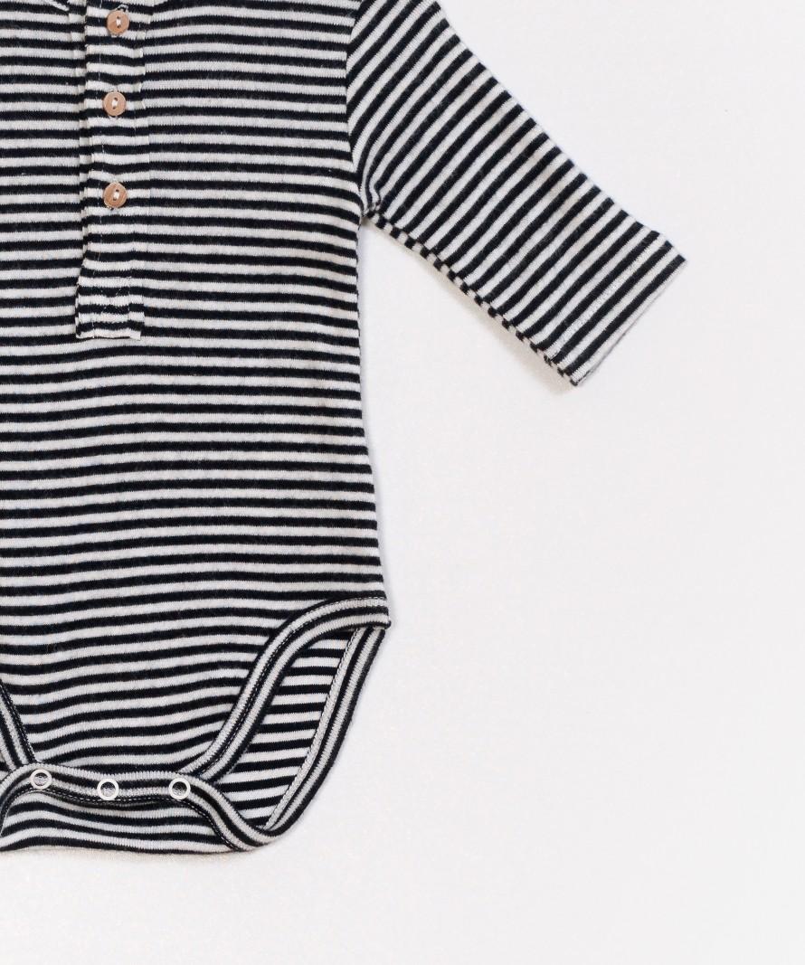 Striped Rib Bodysuit