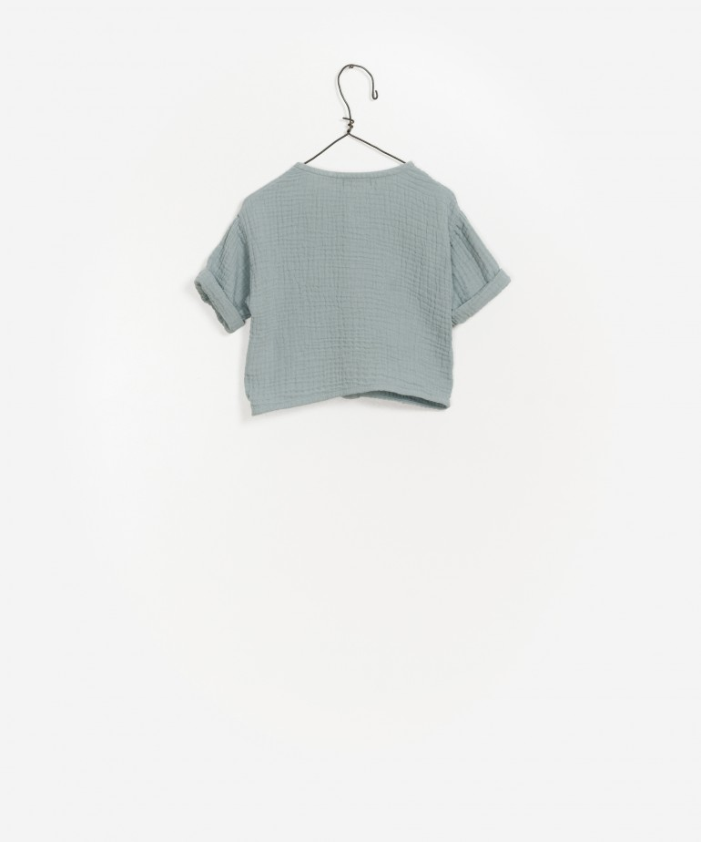 Camisa algodão orgânico