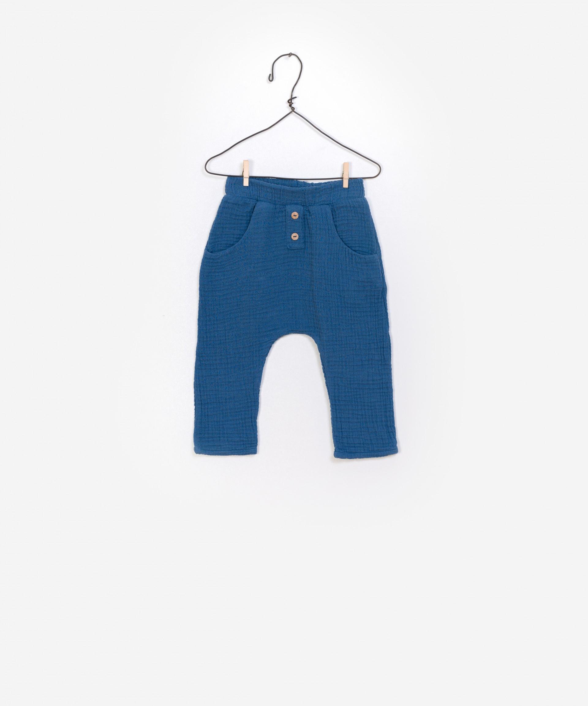 Pantalones de algodón 100% orgánico