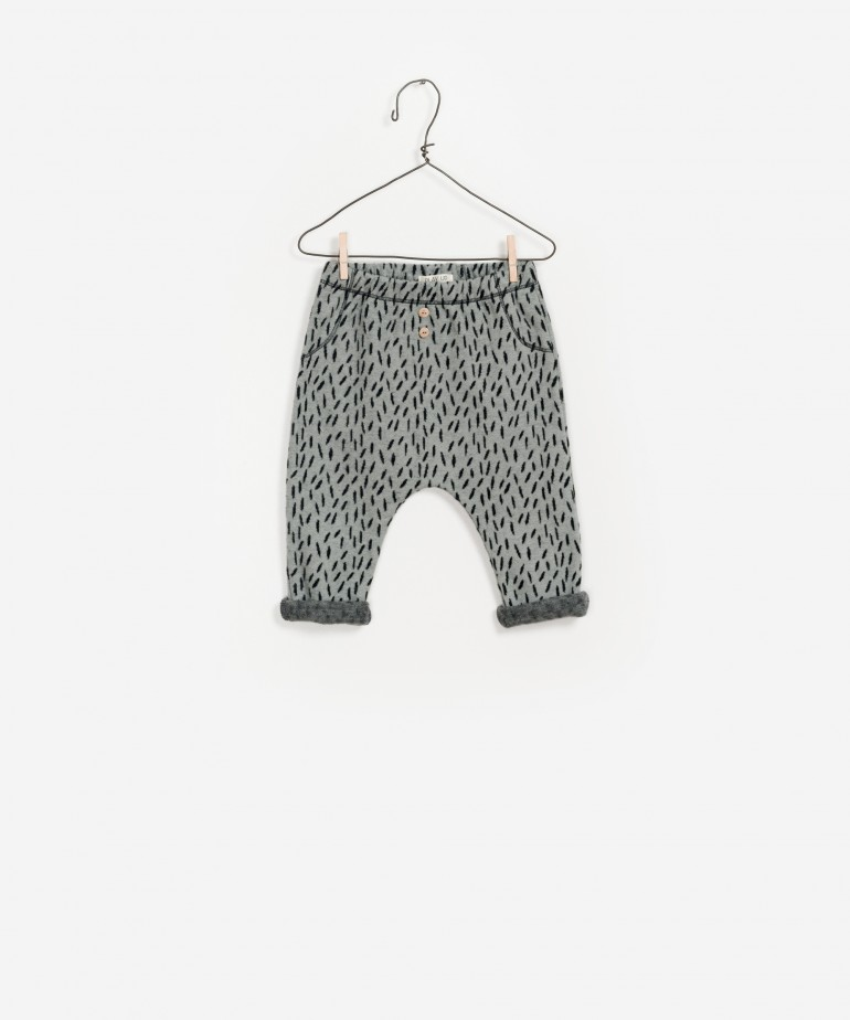 Jacquard Pants 100% Organic Cotton