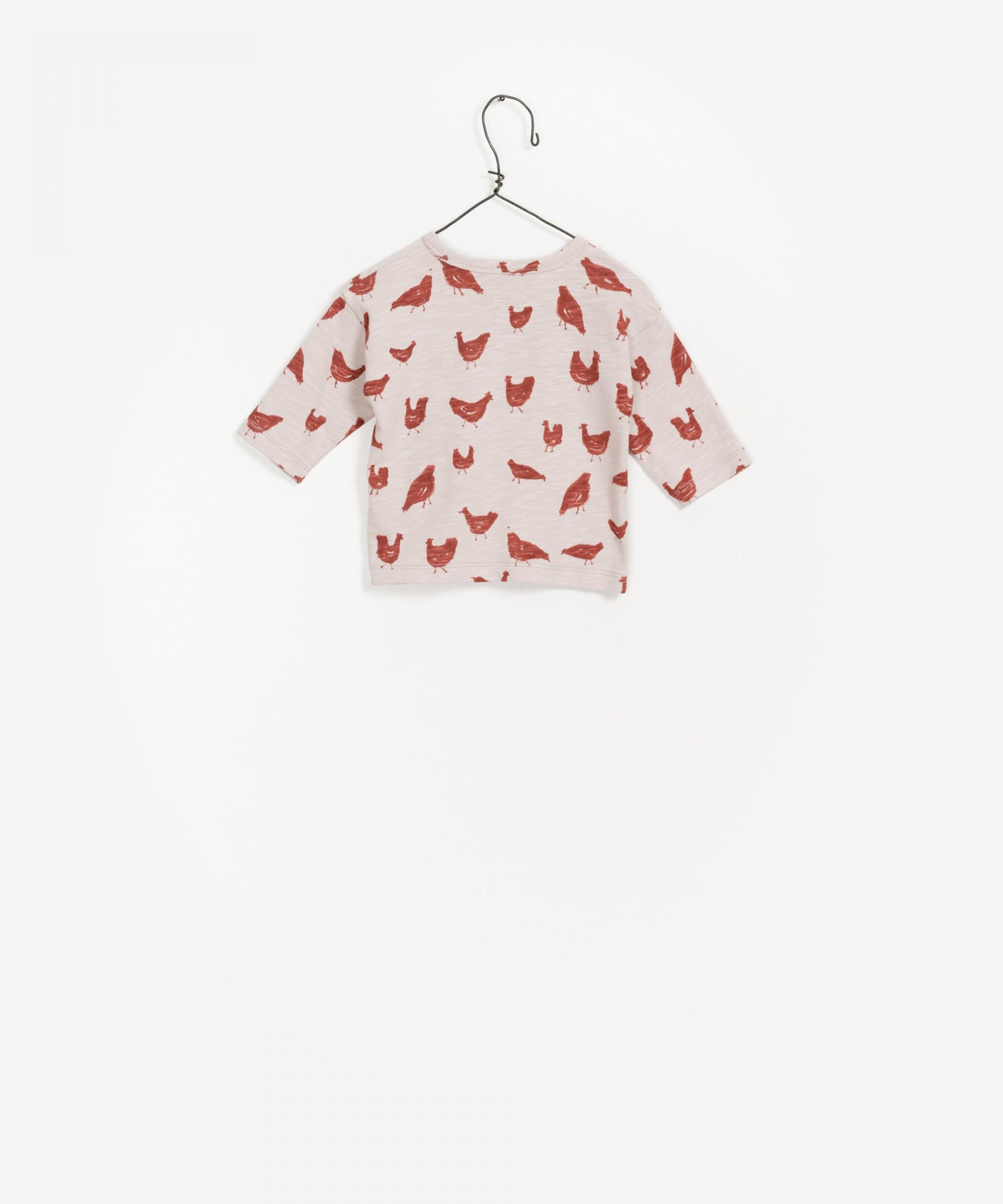 100% Organic Cotton Long Sleeve T-Shirt