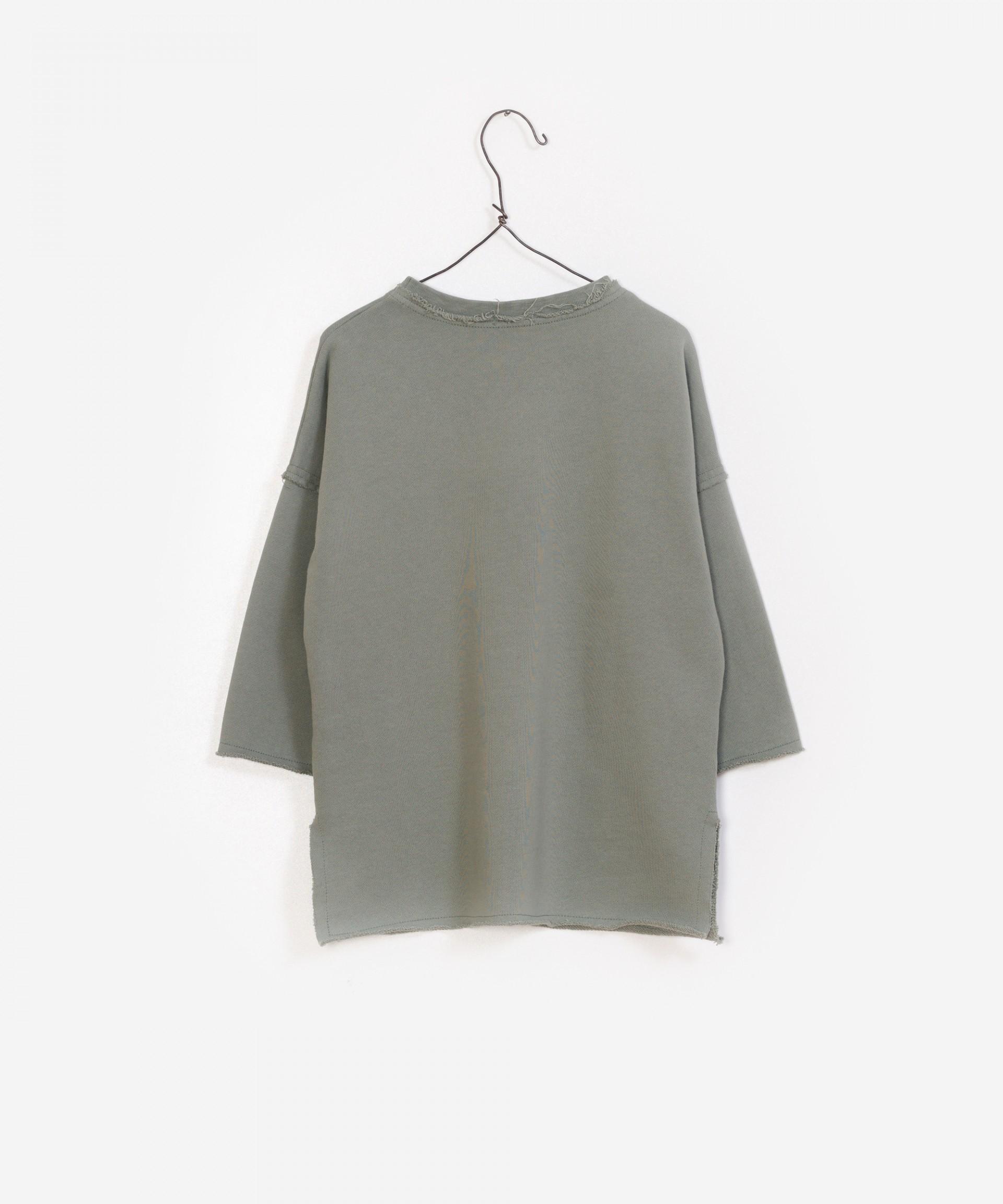 Vestido felpa 100% algodón orgánico