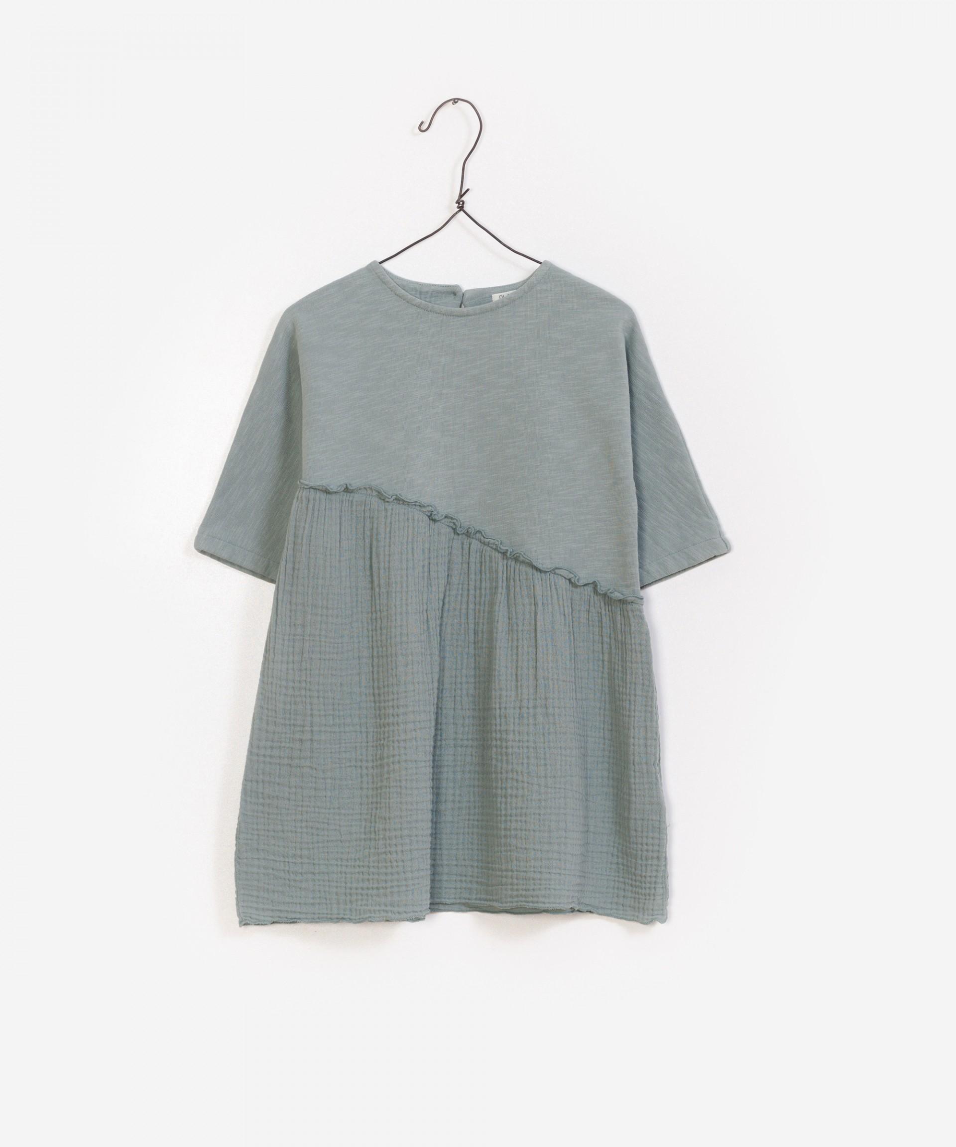 Vestido de algodón 100% orgánico.