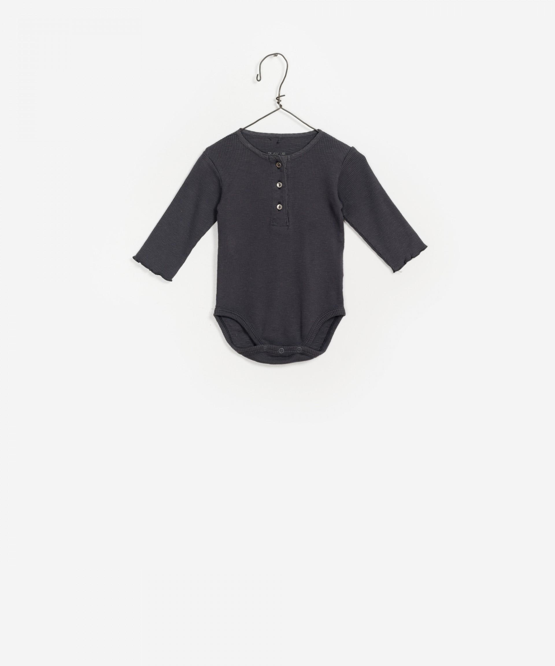 Body para bebé, manga larga, sin cuello