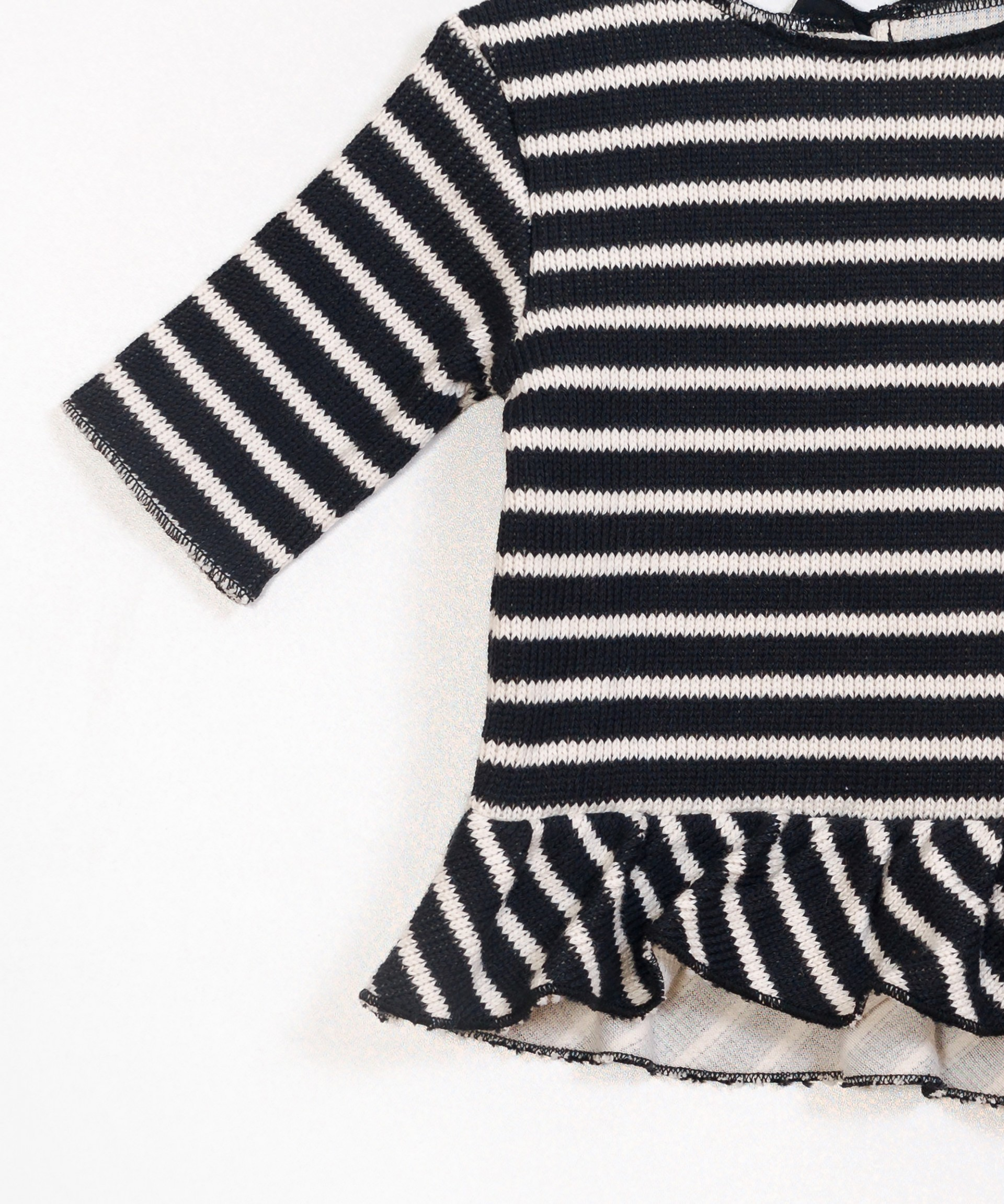 Ribbed Double-Sided Sweater
