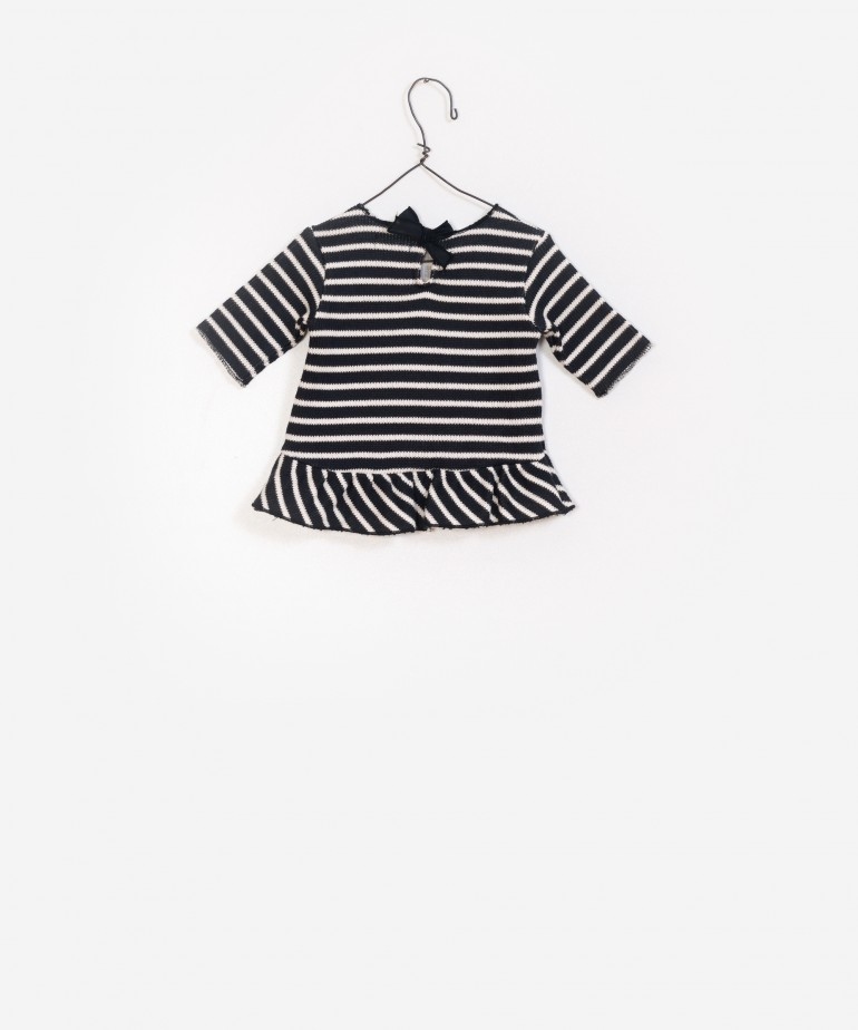 Striped rib Sweat