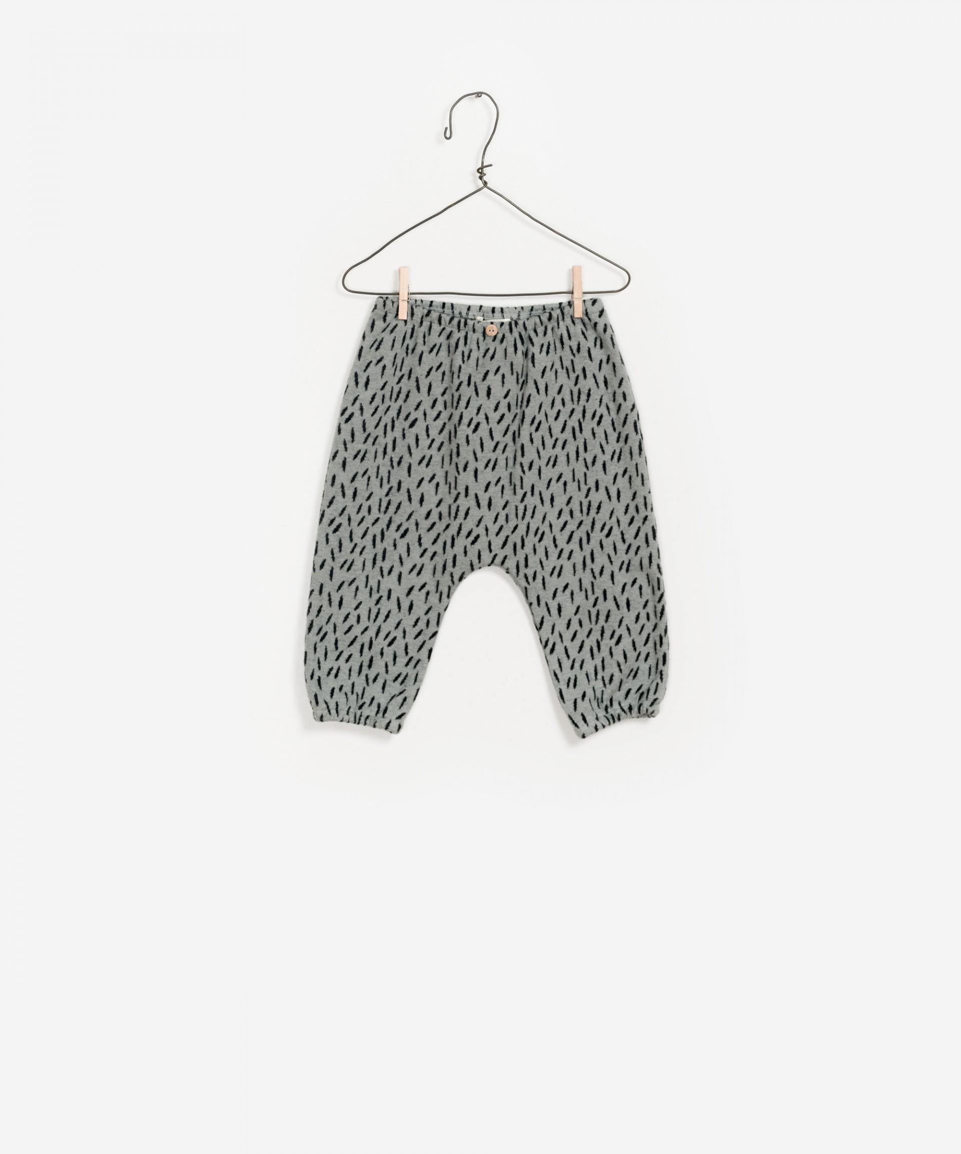 Pantalones de algodón 100% orgánico estampado