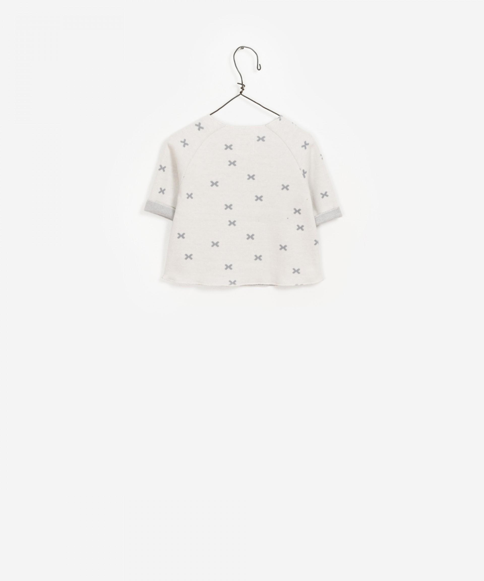 100% Organic Cotton Pocket Sweater