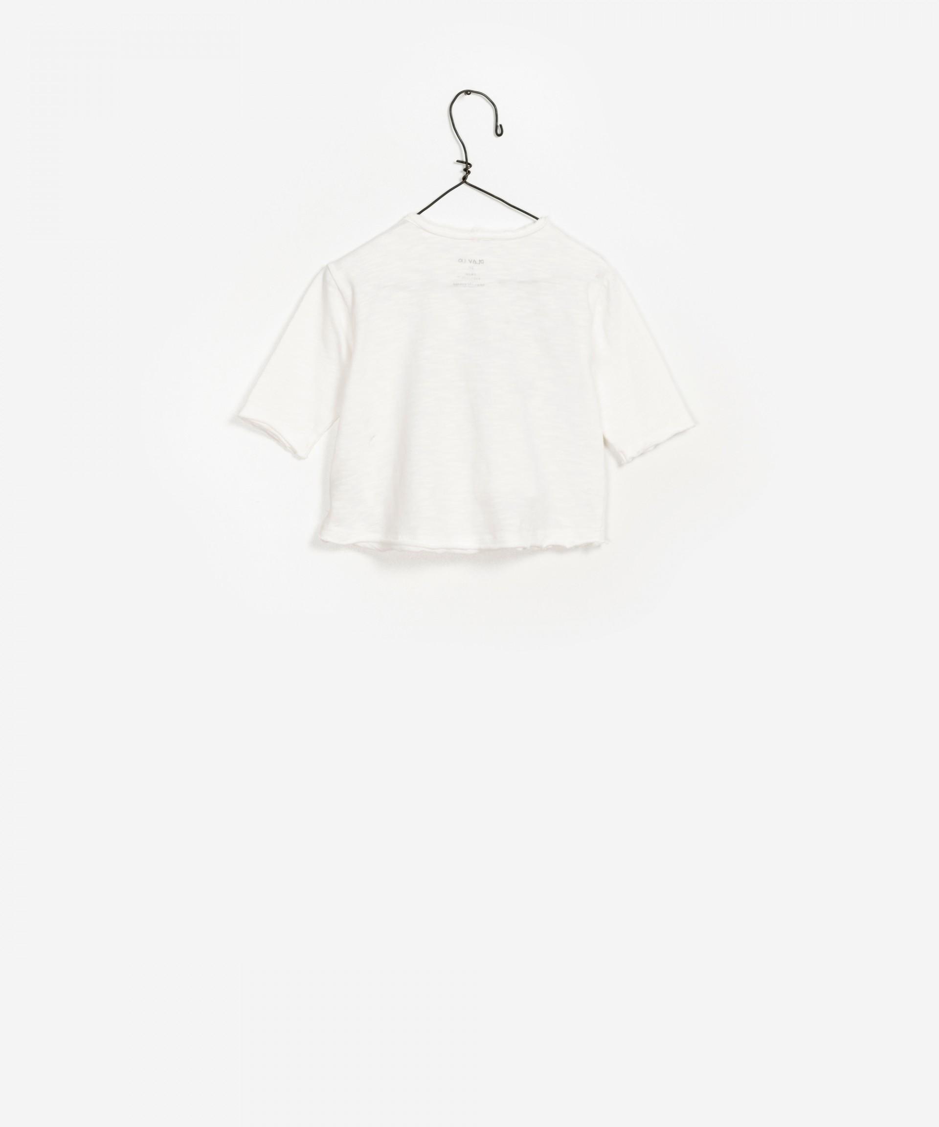 LS T-shirt Jersey Flamê 100% organic cotton