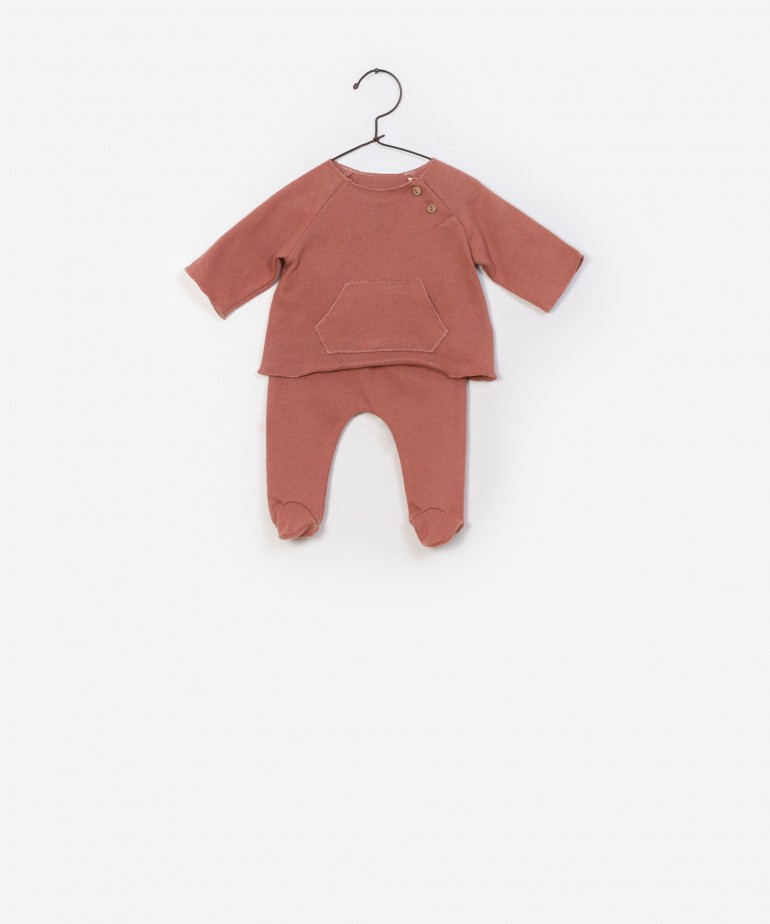 LS T-shirt + Trousers Set