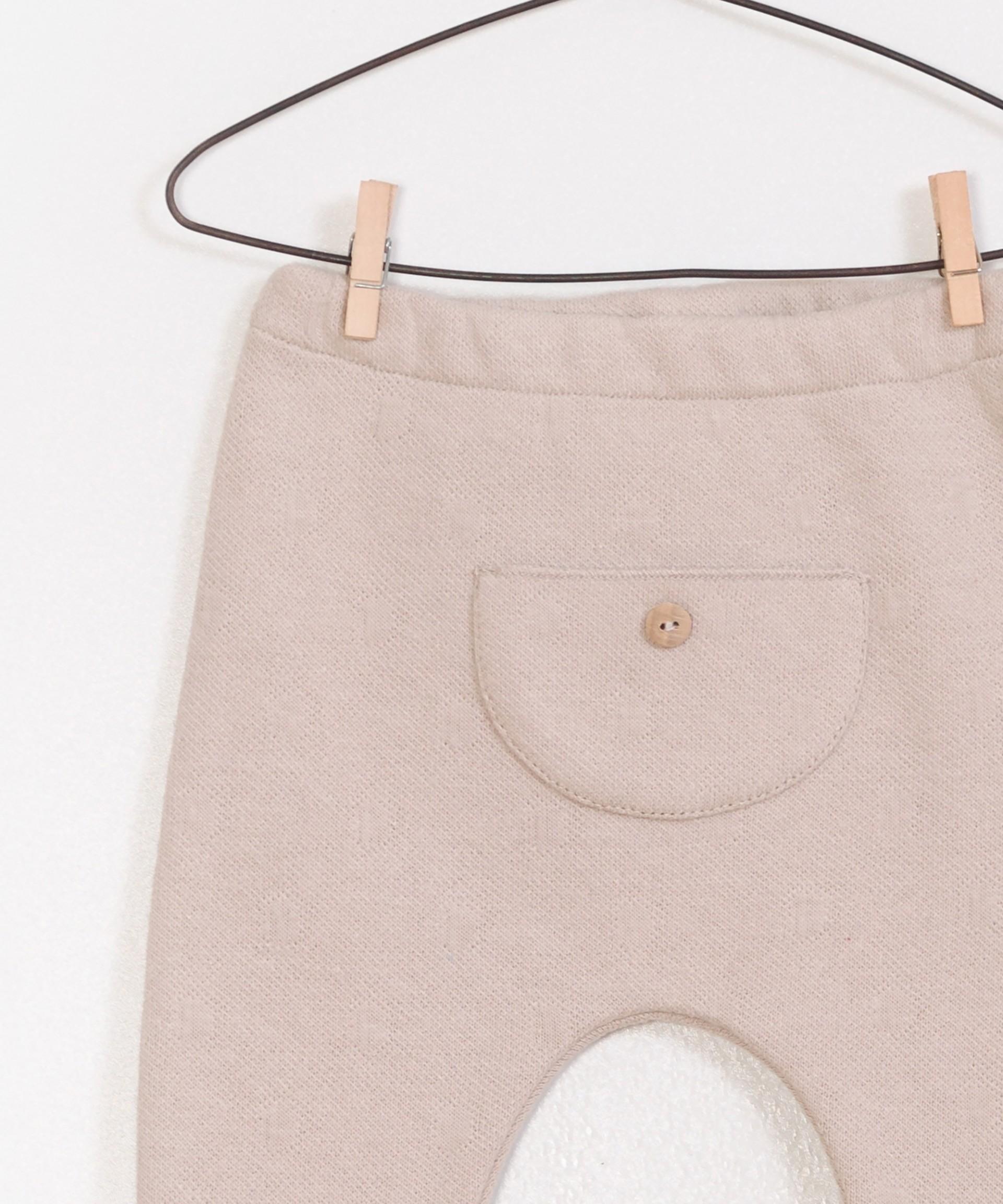 Jacquard Pants with Kangaroo Pocket