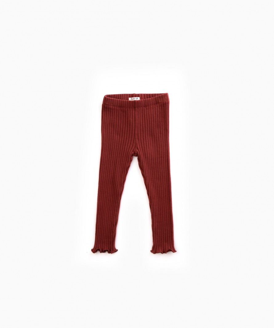 Ribbed Rib Legging