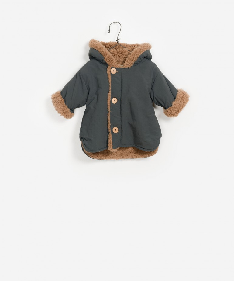 Hooded Lined Baby Parka