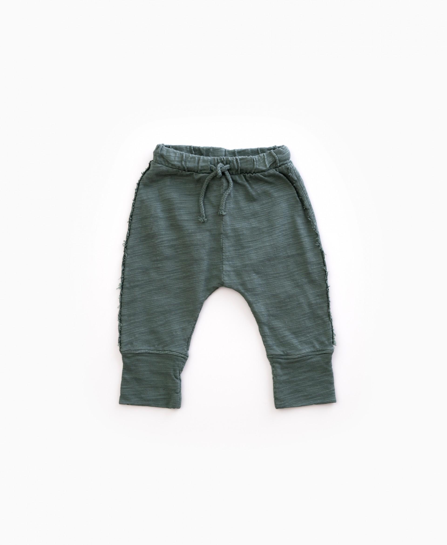 Drawstring cotton pants