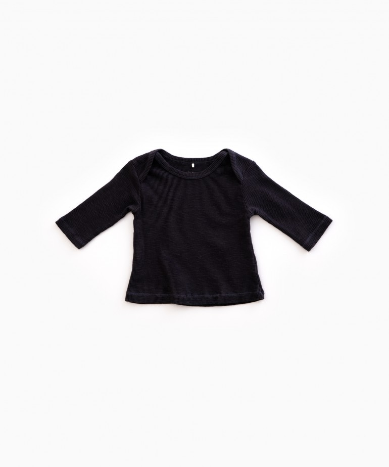 T-shirt Flamé Rib