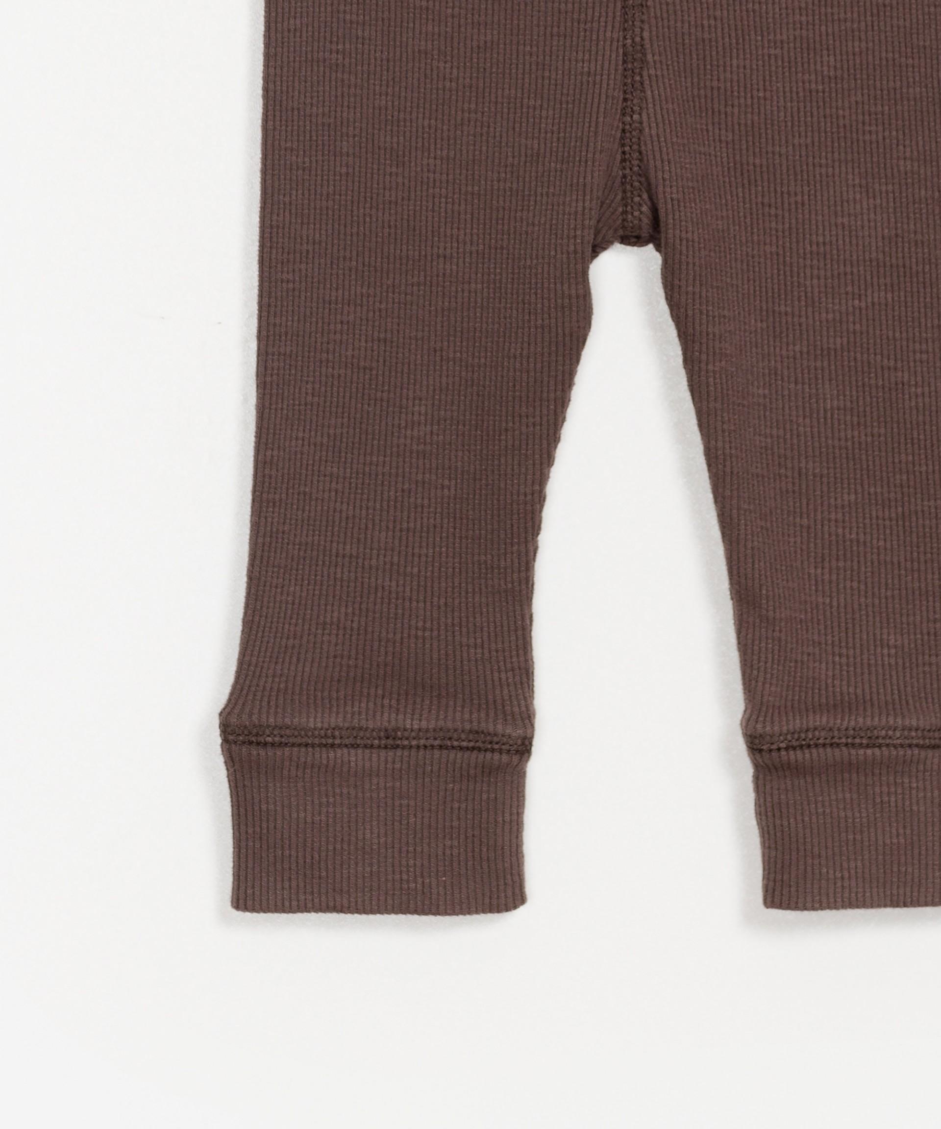 Leggings básicos algodão orgânico