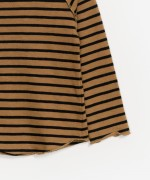 Long-sleeve Striped Jersey T-shirt