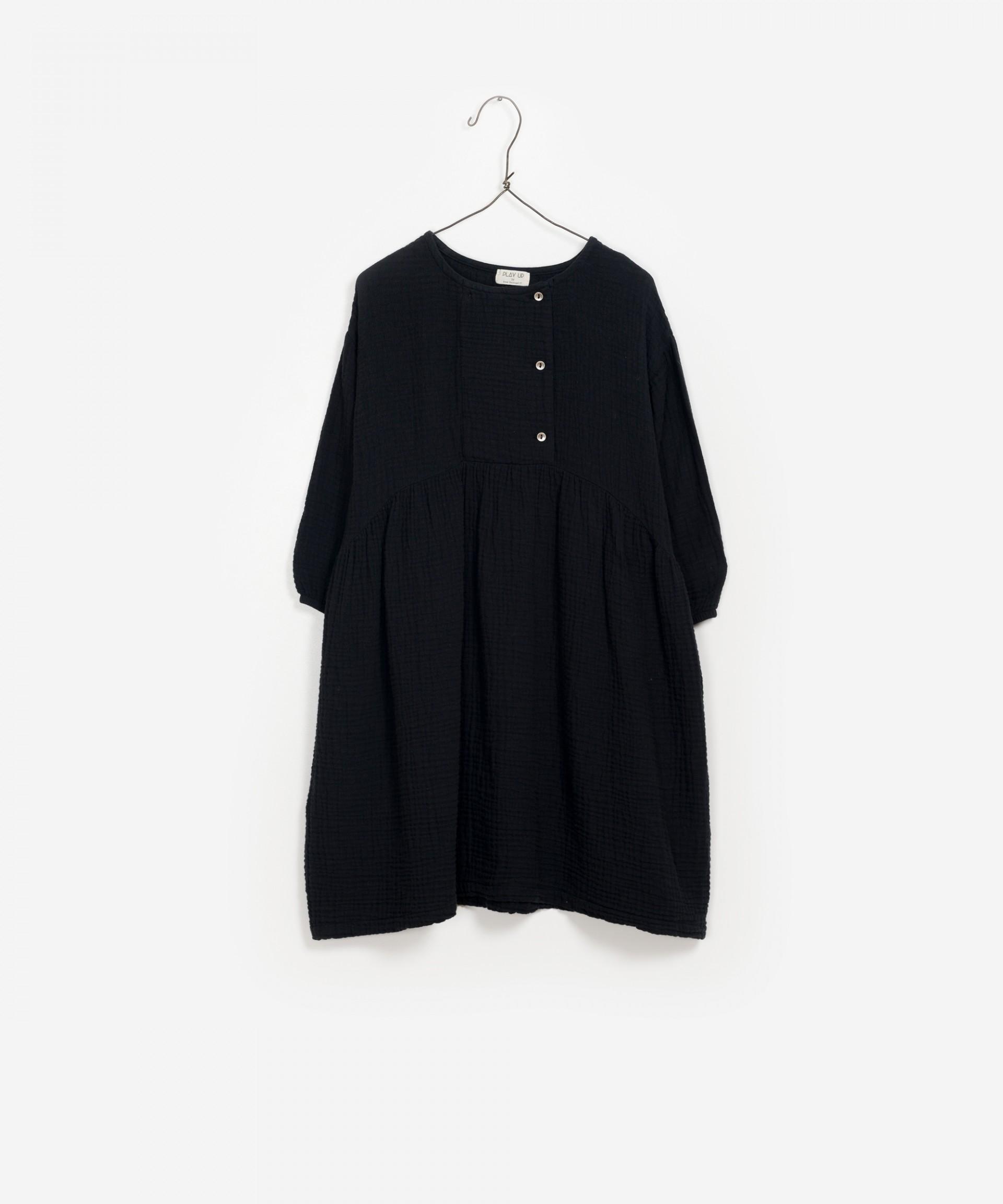 Vestido midi de algodón 100% orgánico