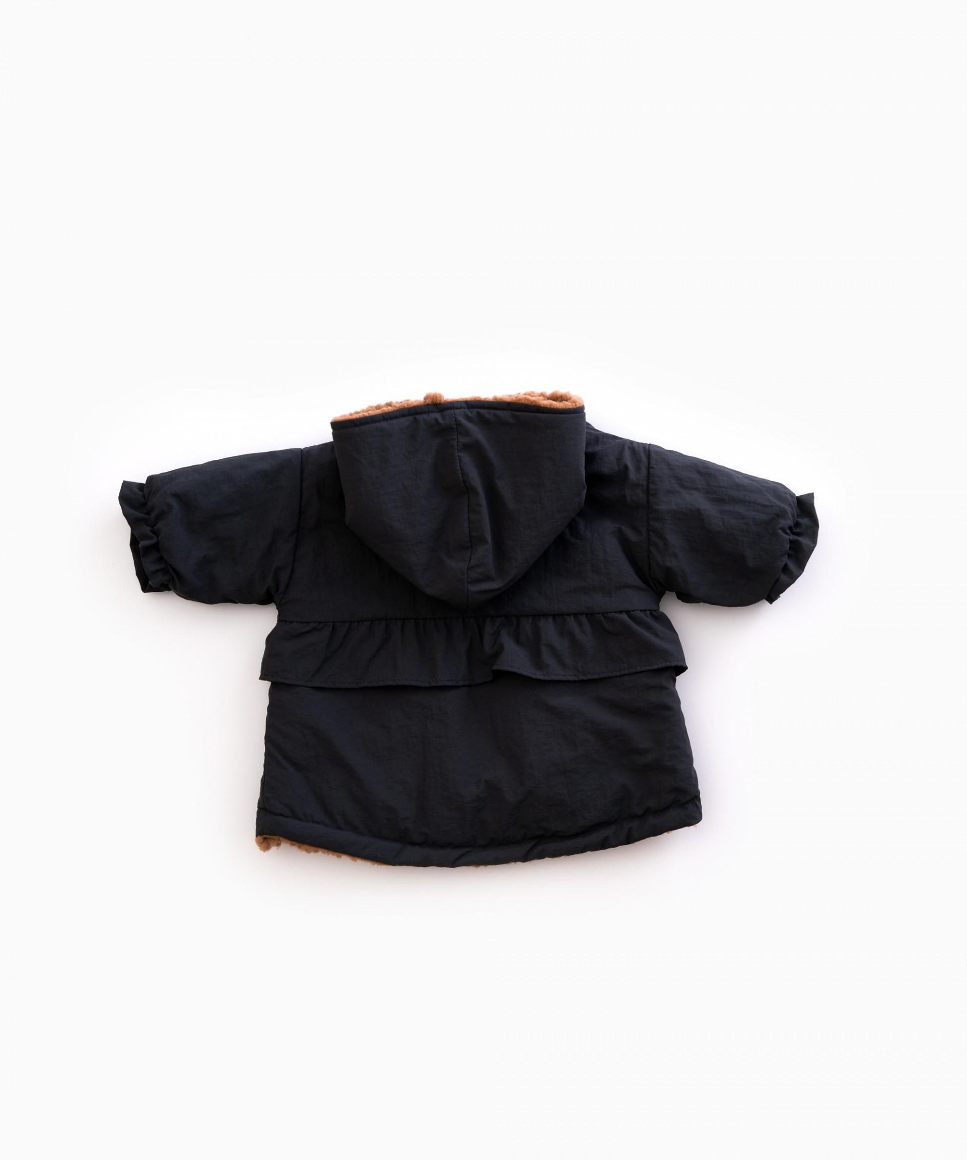 Hooded waterproof parka