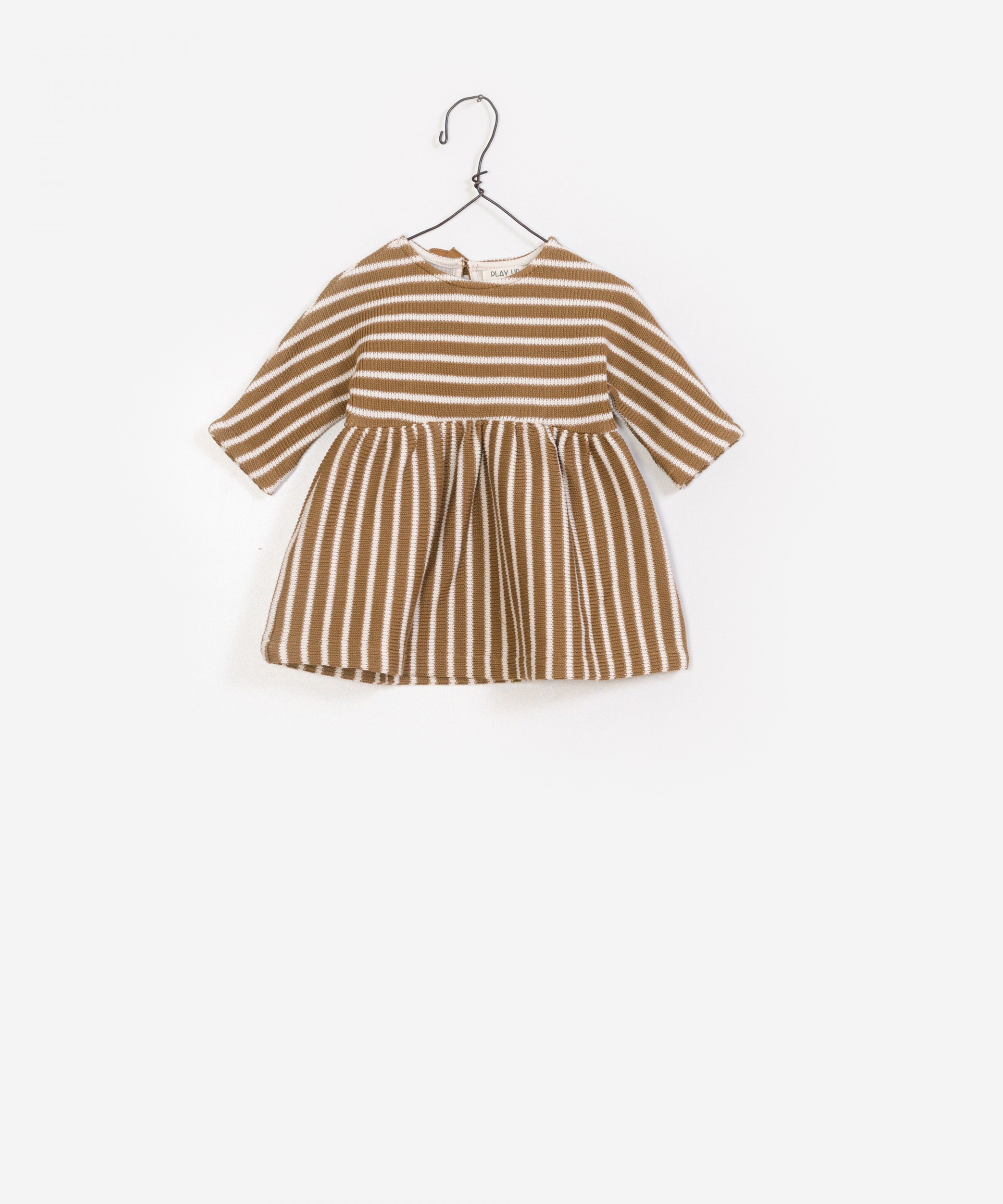 Striped Double Face Dress