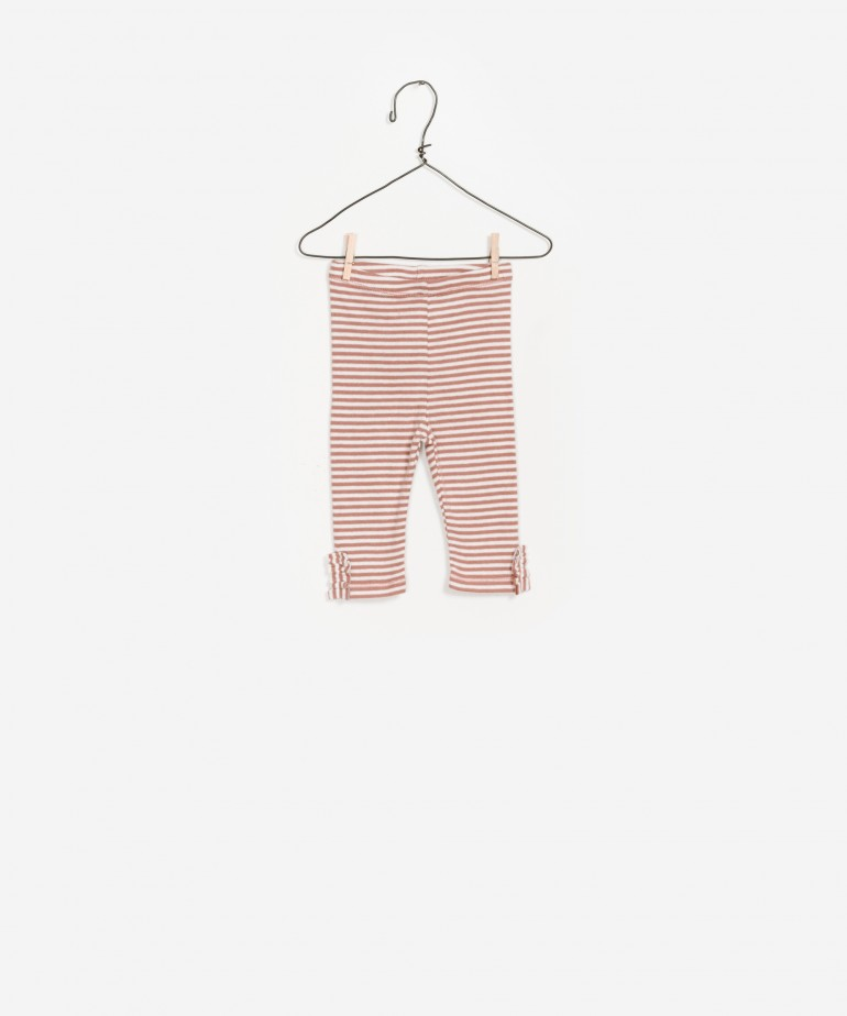Stripped Rib Legging