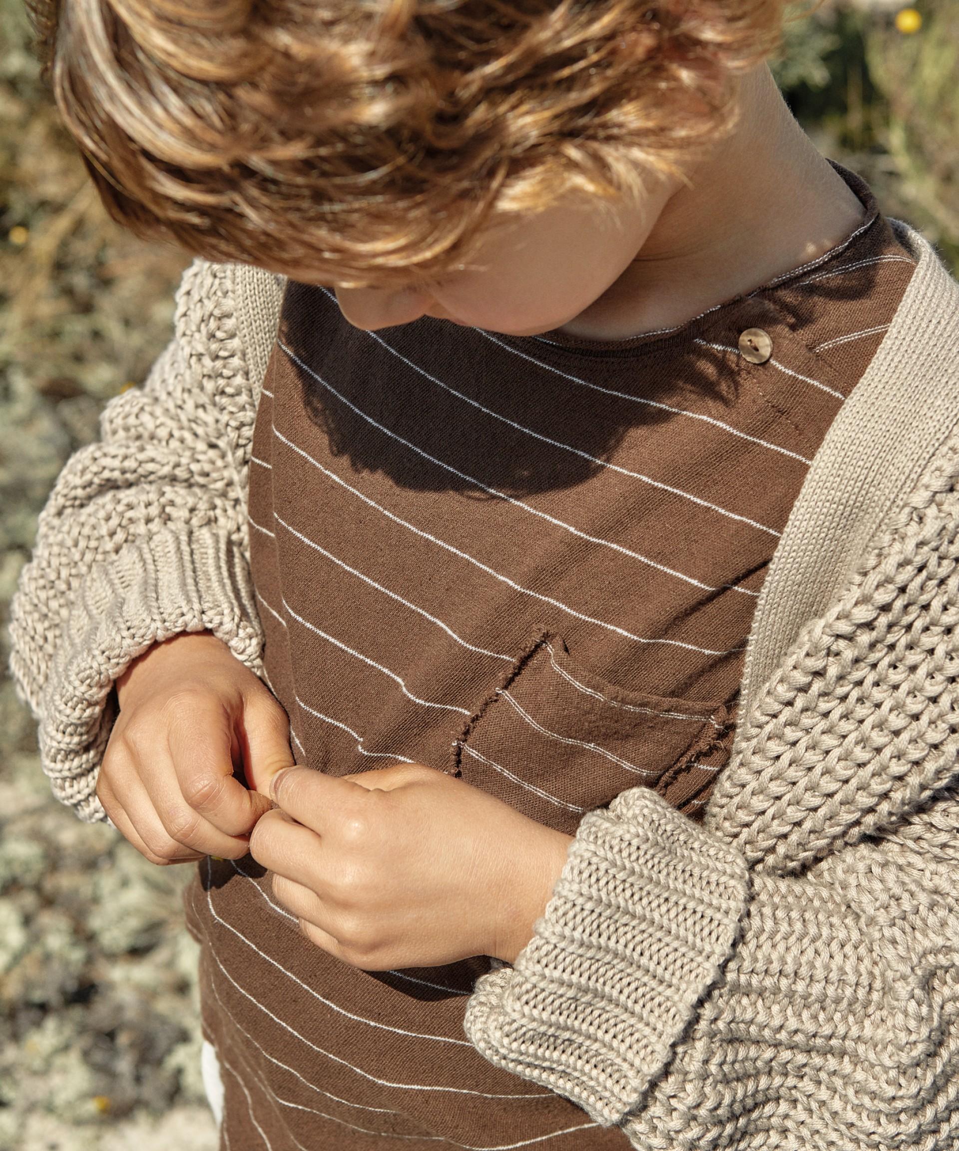Chaqueta con botones de resina | Weaving