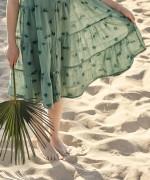 Vestito in tessuto di cotone | Weaving