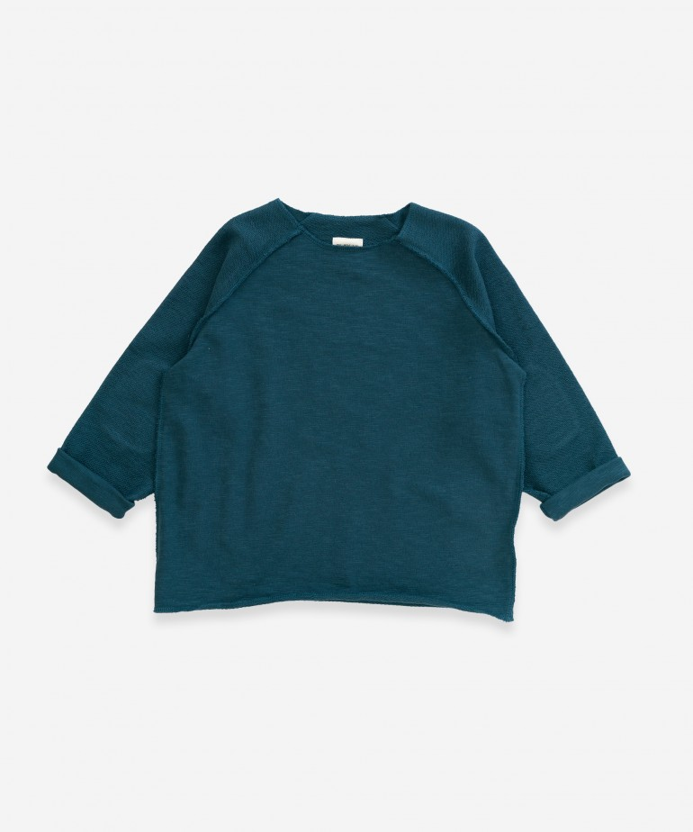 Sweater in organic cotton
