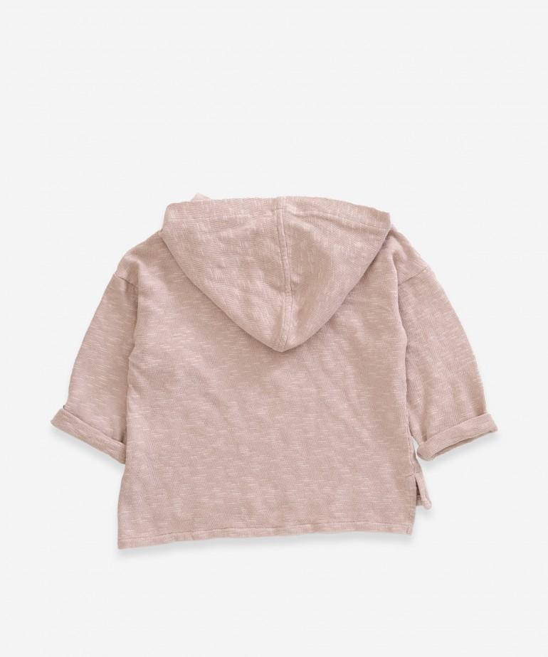 Sweater with hood