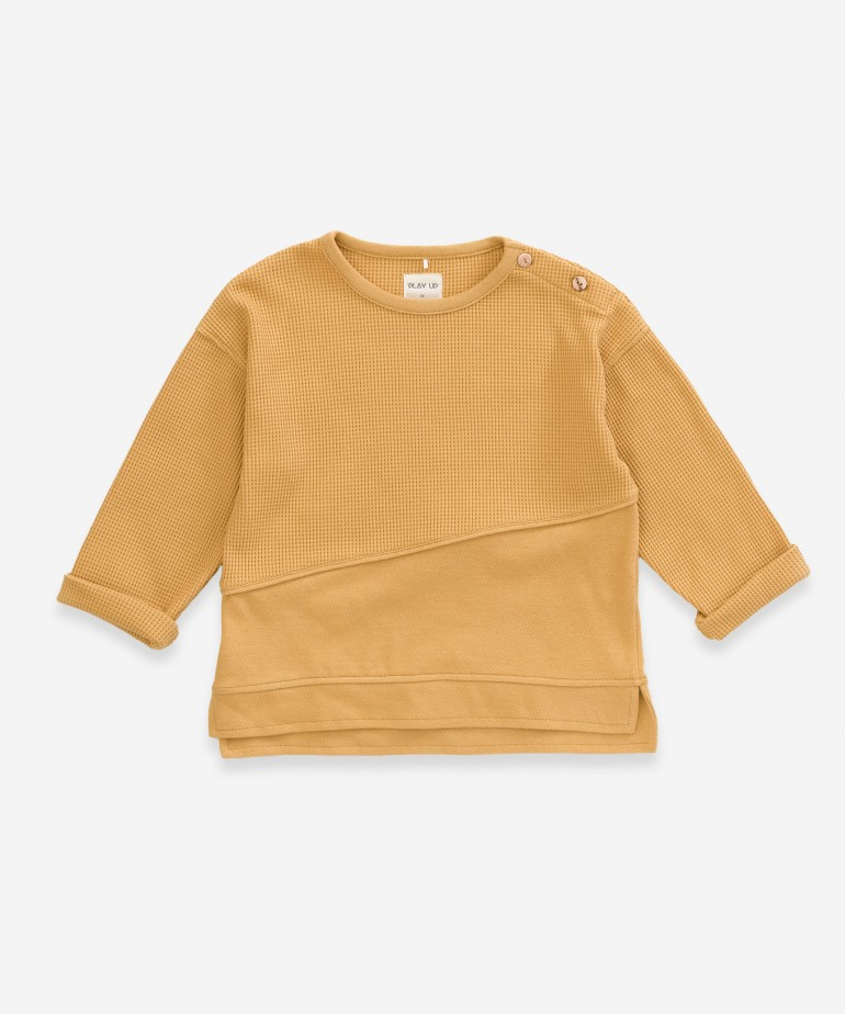 Sweater with insert