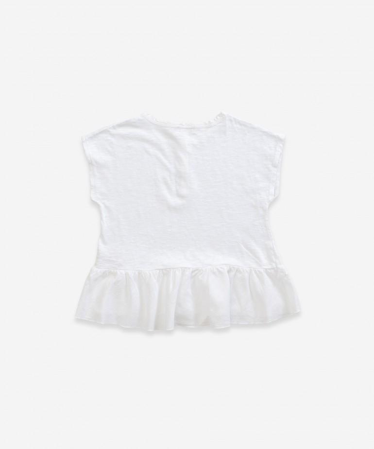T-shirt em algodão orgânico