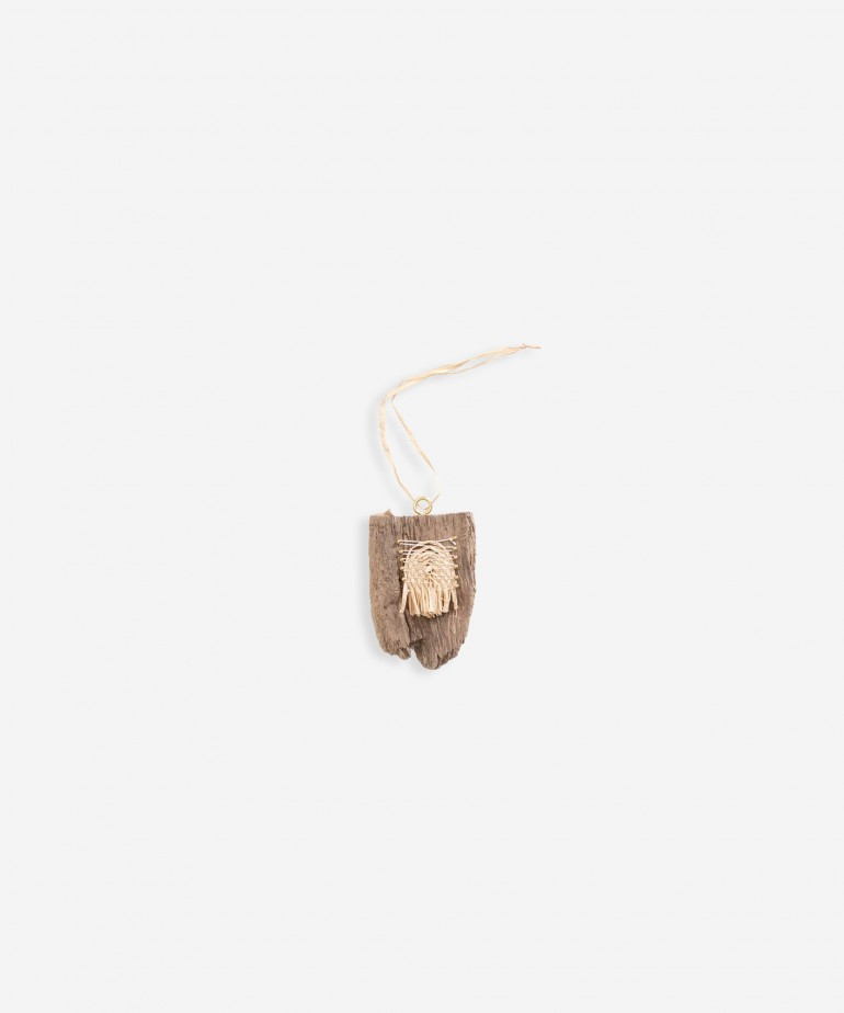 Wooden pendent