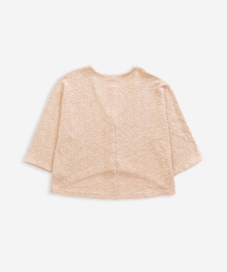 Cardigan in organic cotton