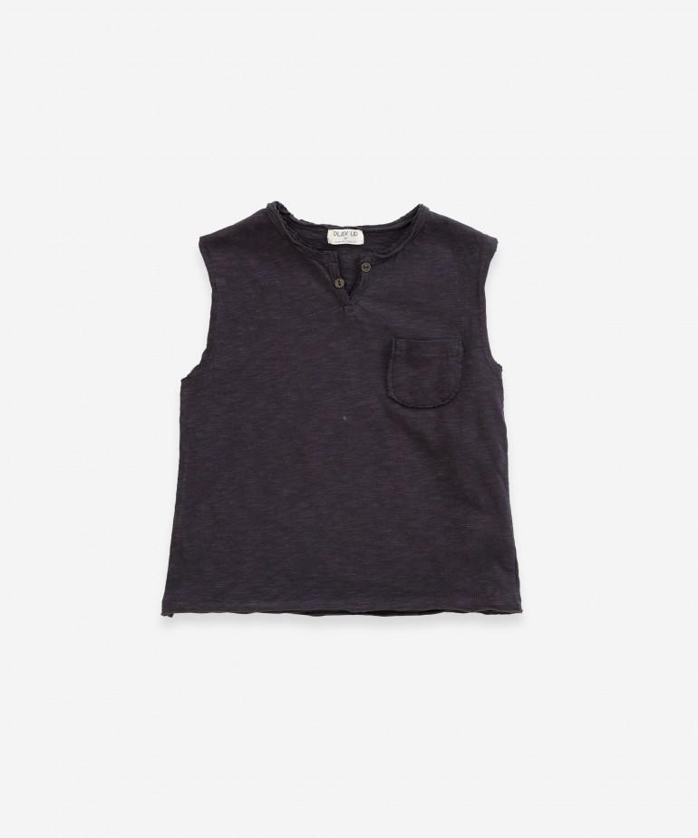 T-Shirt senza maniche