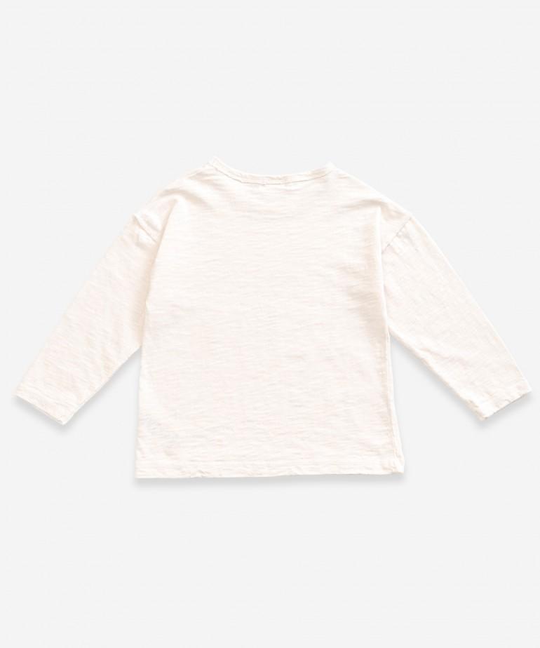 T-Shirt a maniche lunghe in cotone biologico