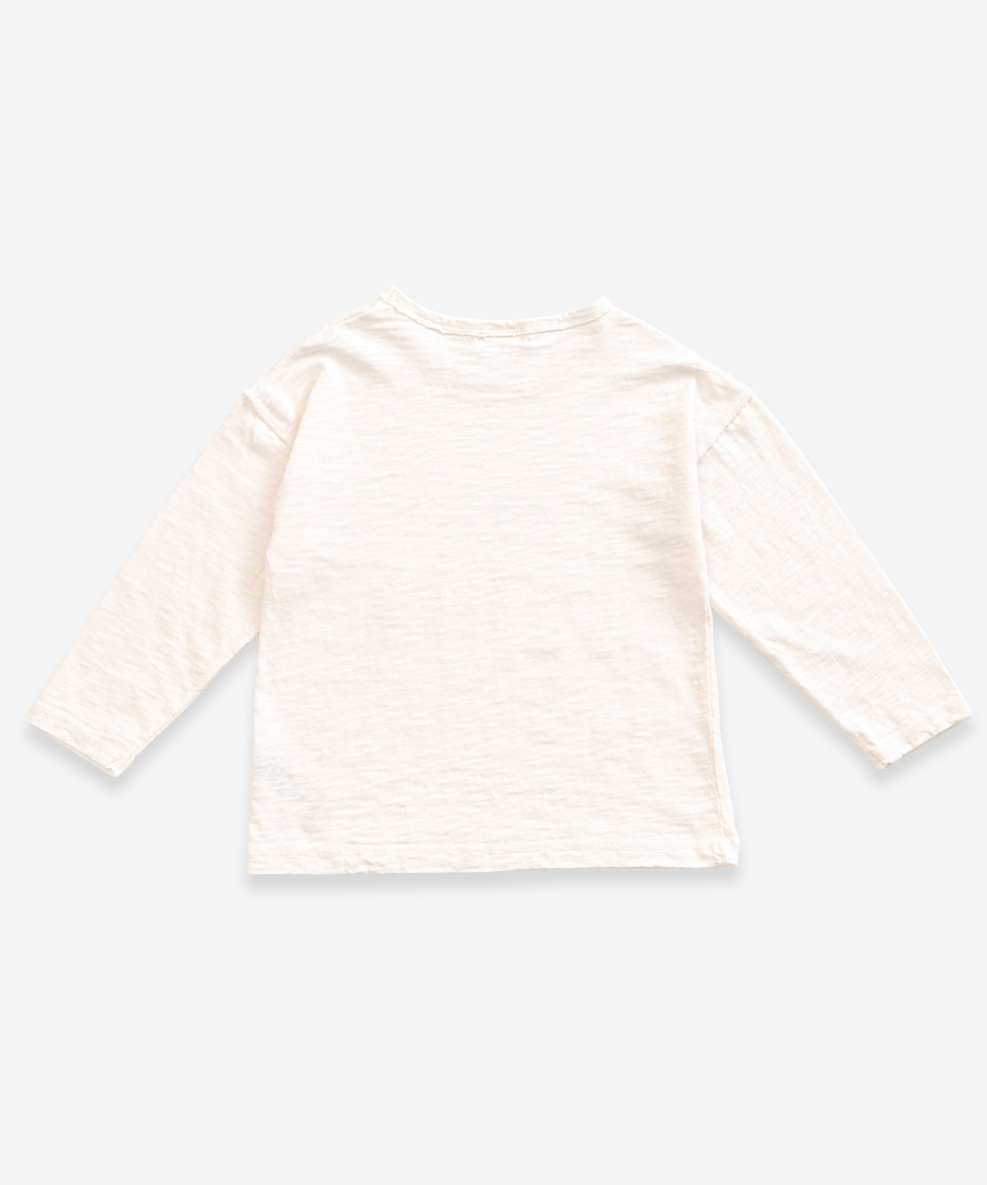T-Shirt a maniche lunghe con stampa | Weaving