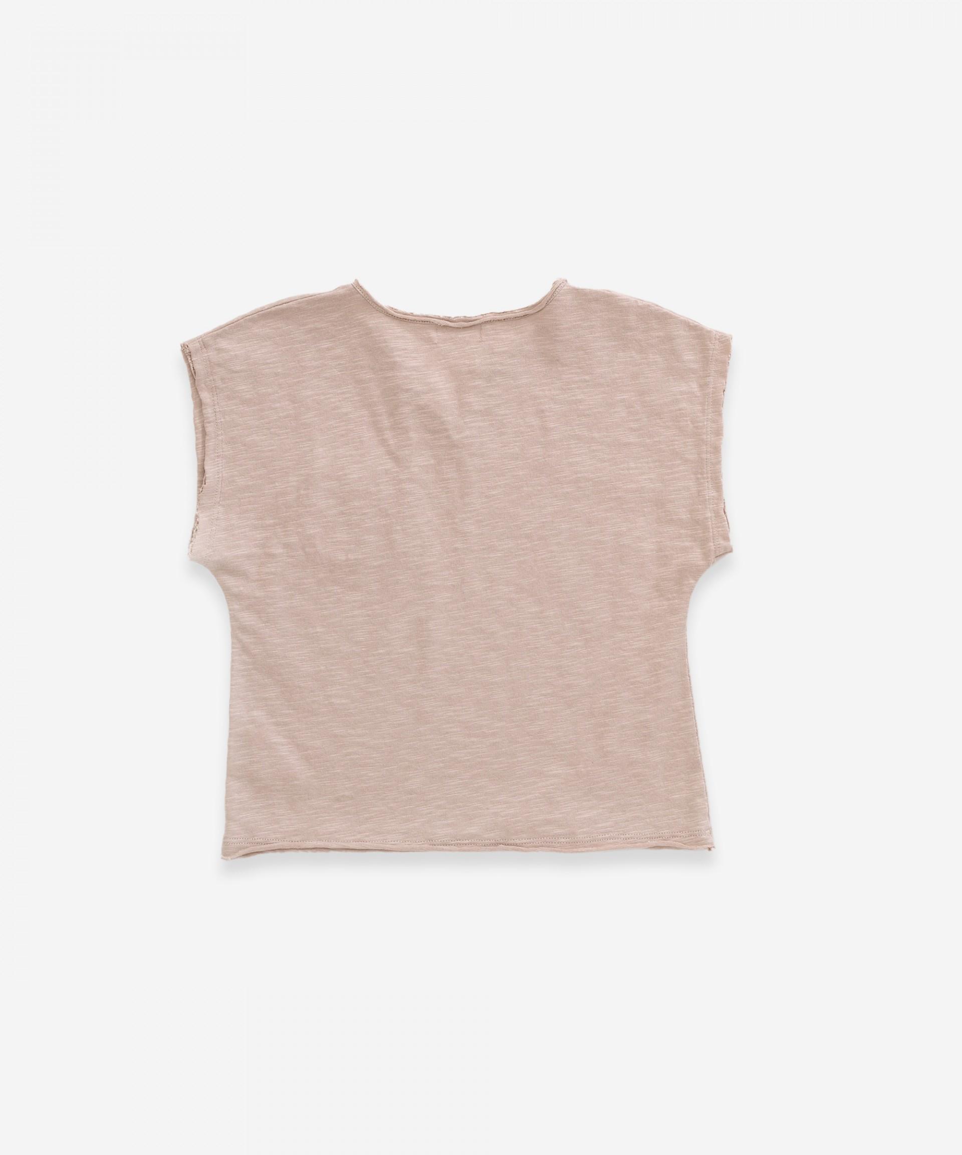 T-shirt em algodão orgânico| Weaving