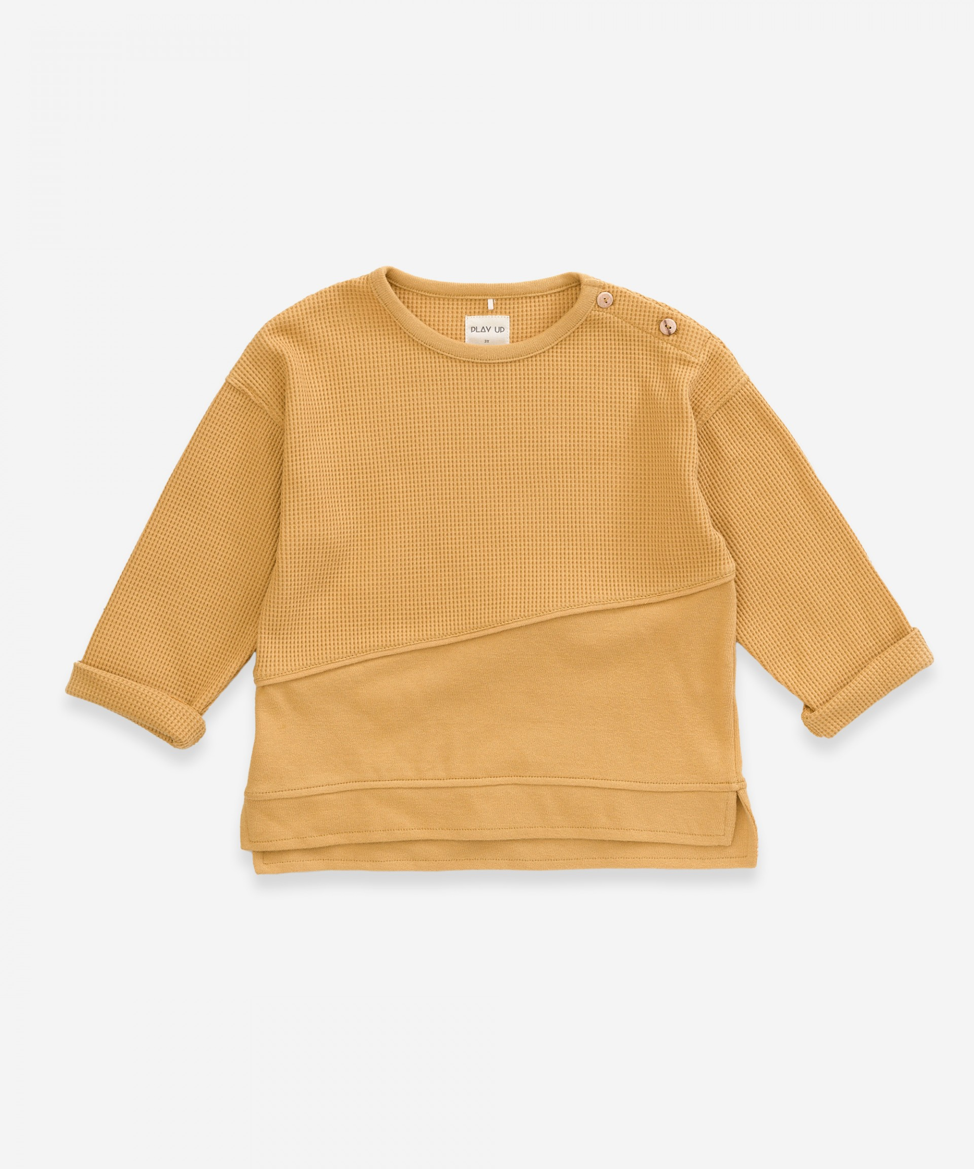 Sweater in organic cotton | Weaving