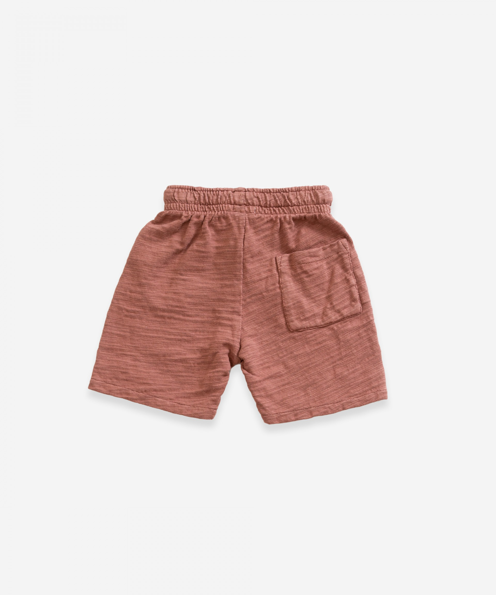 Cotton shorts | Weaving