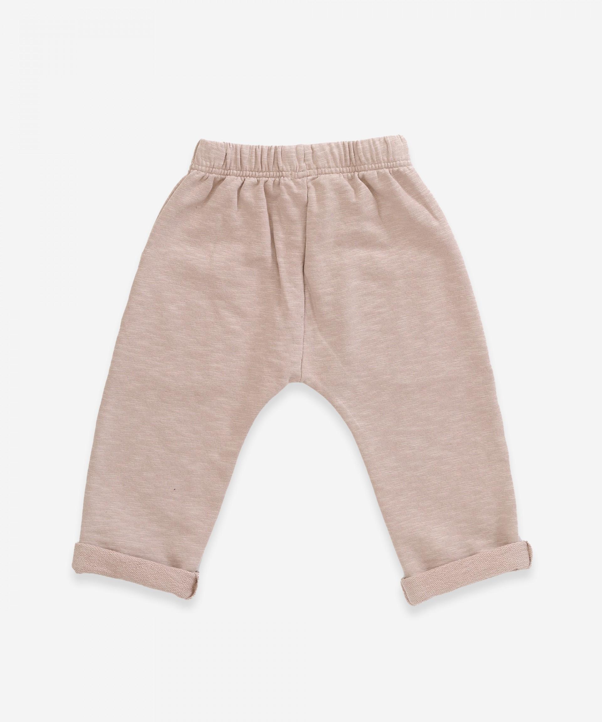 Pantaloni in cotone biologico con tasche | Weaving