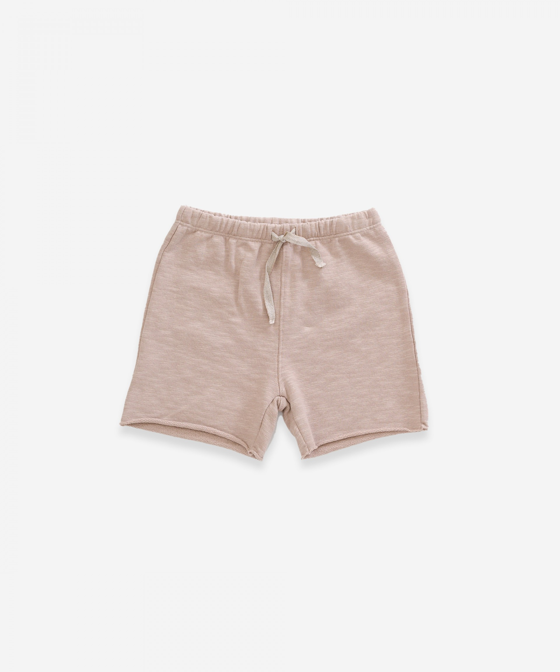 Shorts in organic cotton with pocket | Weaving