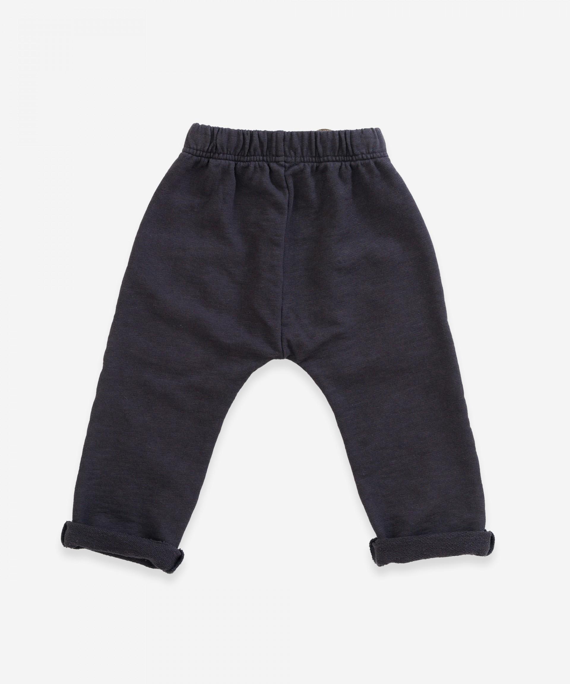 Pantalón de algodón orgánico con bolsillos| Weaving