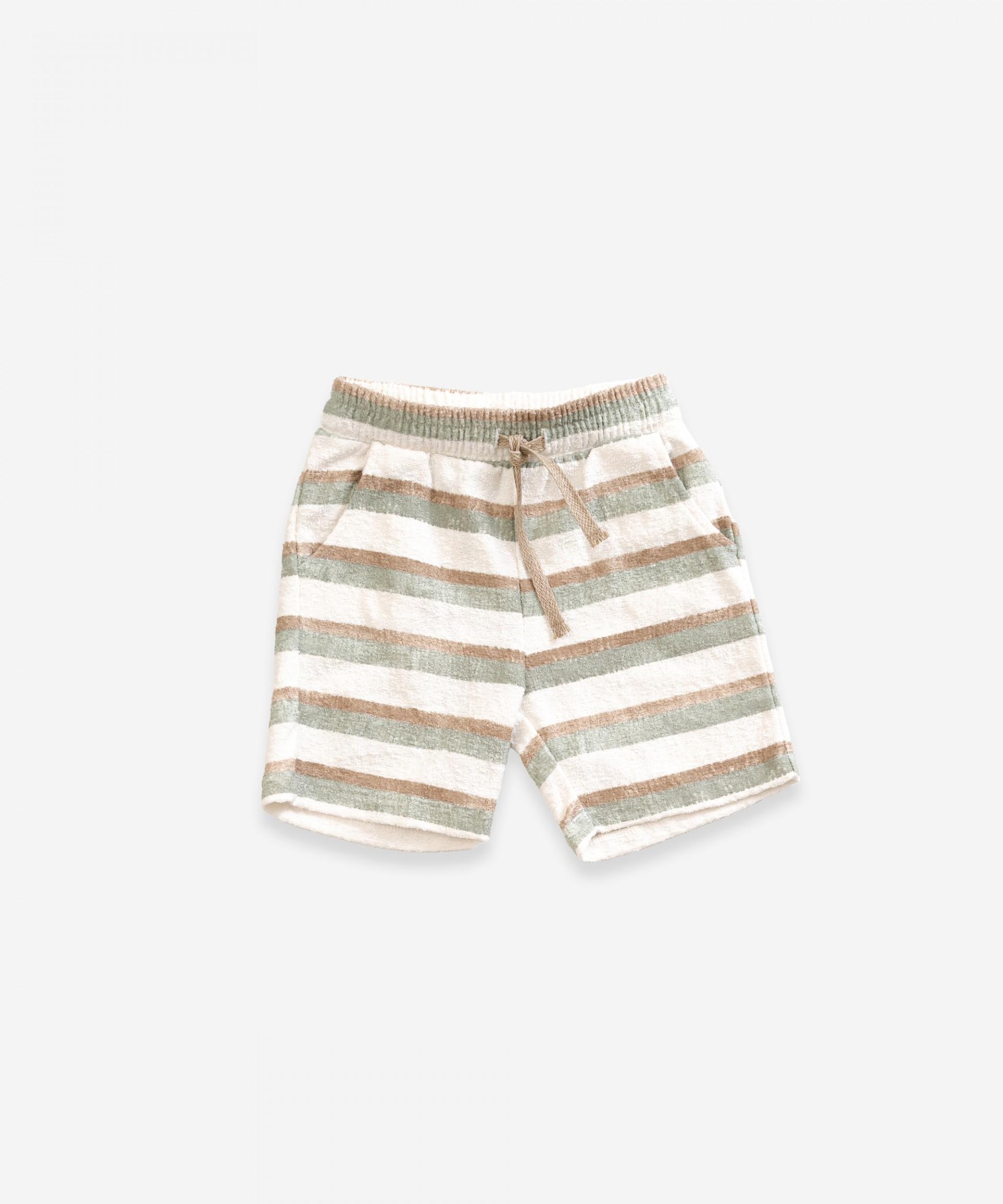 Pantalón corto de algodón orgánico | Weaving