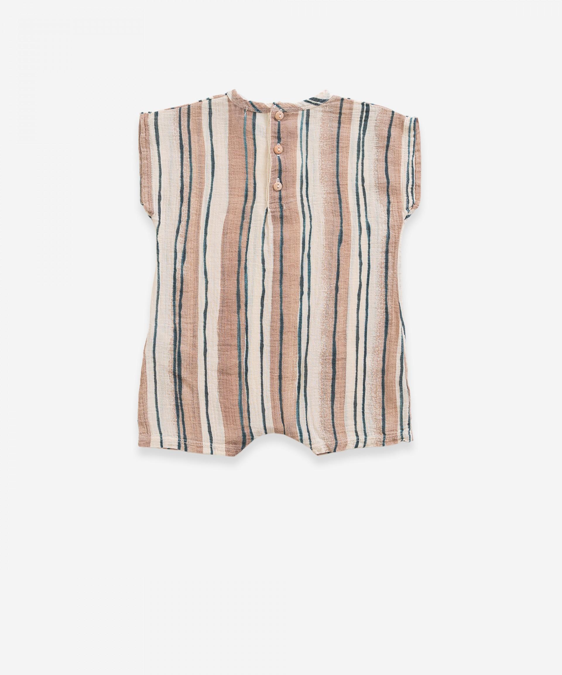 Mono de algodón a rayas | Weaving