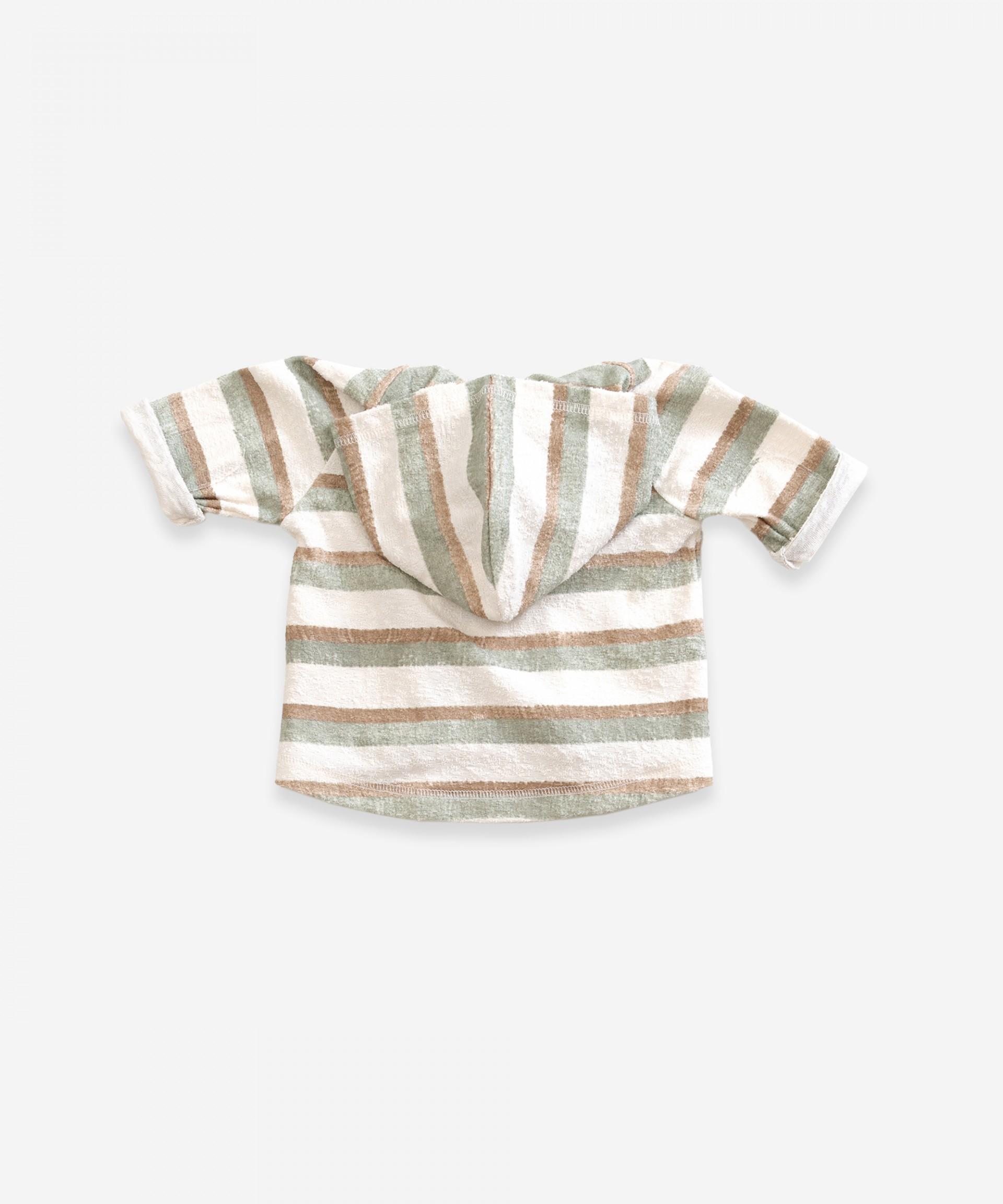 Jacket in organic cotton | Weaving
