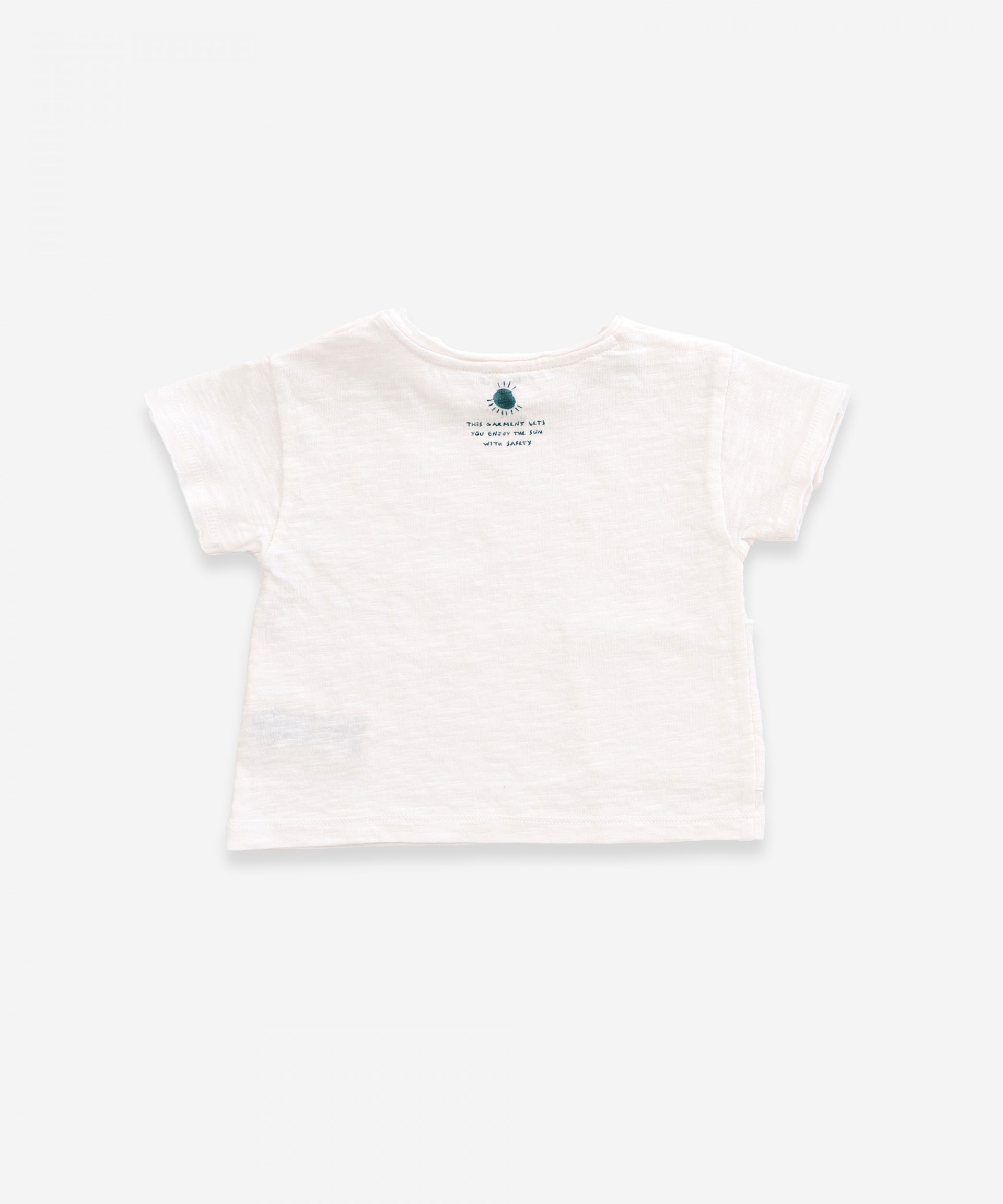 Anti-UV t-shirt in organic cotton | Weaving