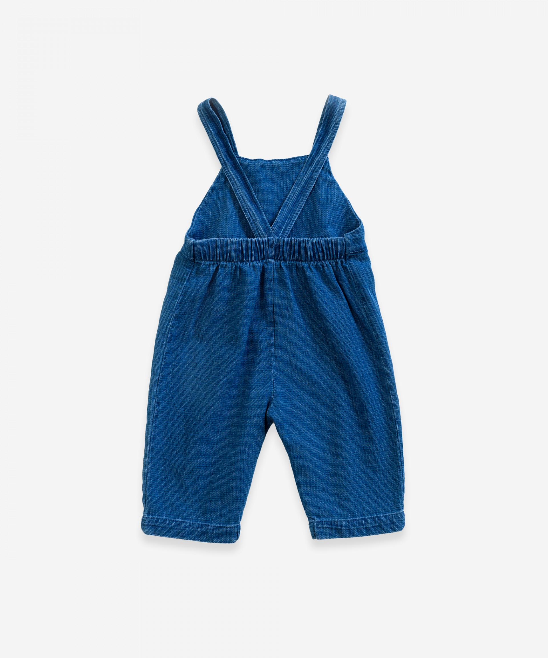 Jumpsuit with pockets | Weaving